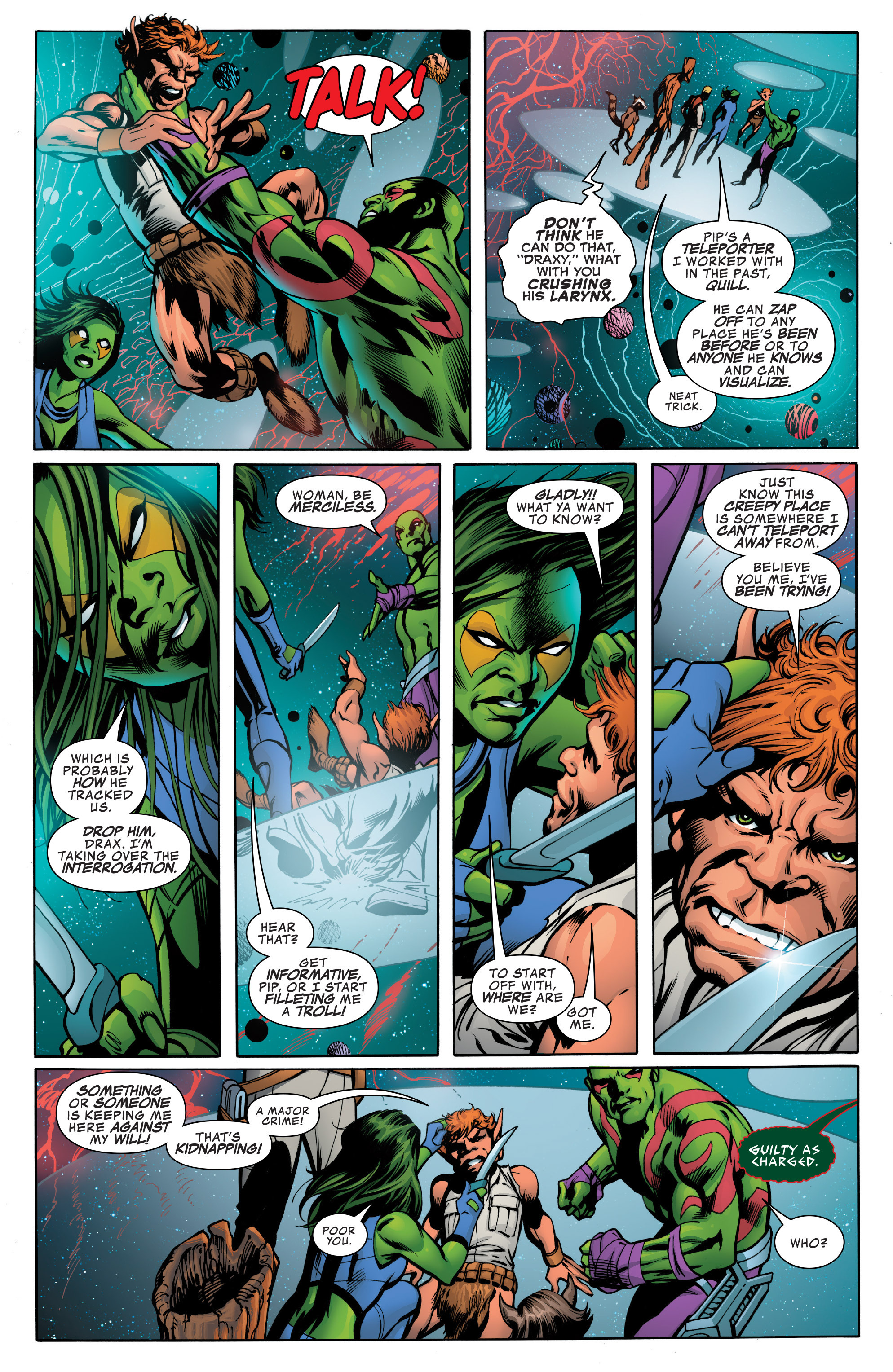 Read online Guardians of the Galaxy: Mother Entropy comic -  Issue #2 - 4
