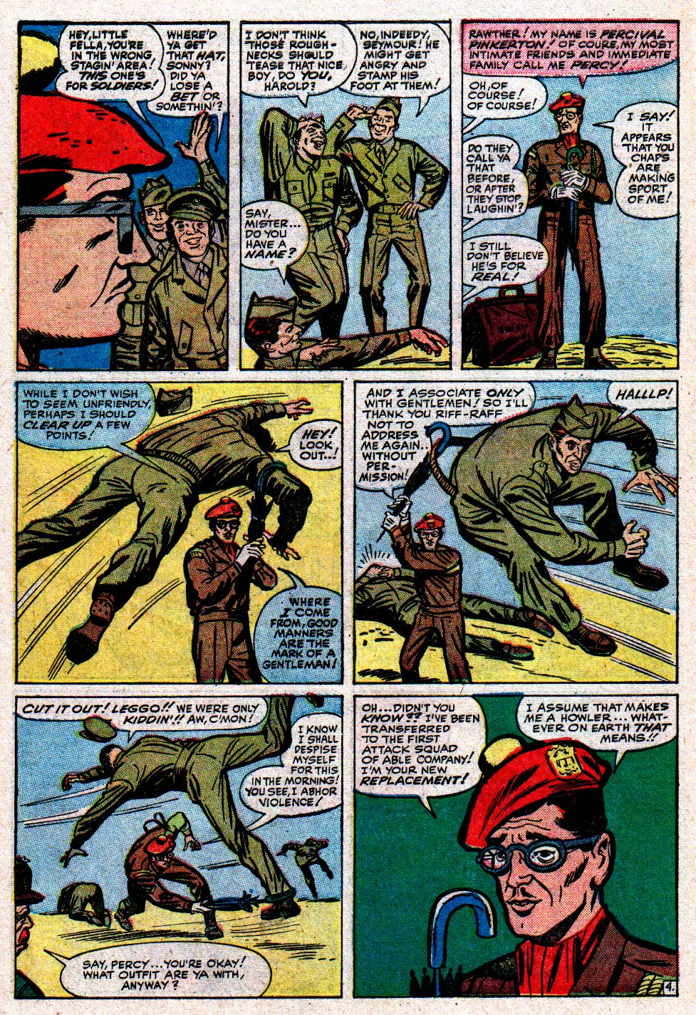 Read online Sgt. Fury comic -  Issue #8 - 6