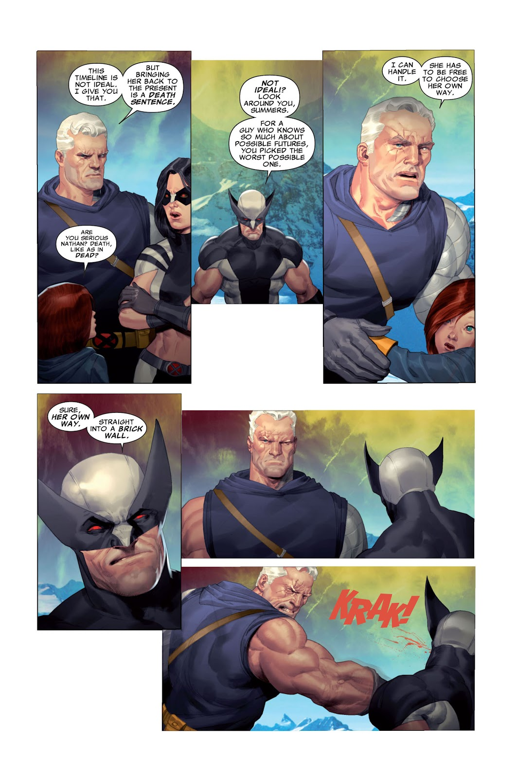 Read online X-Force/Cable: Messiah War comic -  Issue # _TPB (Part 2) - 11