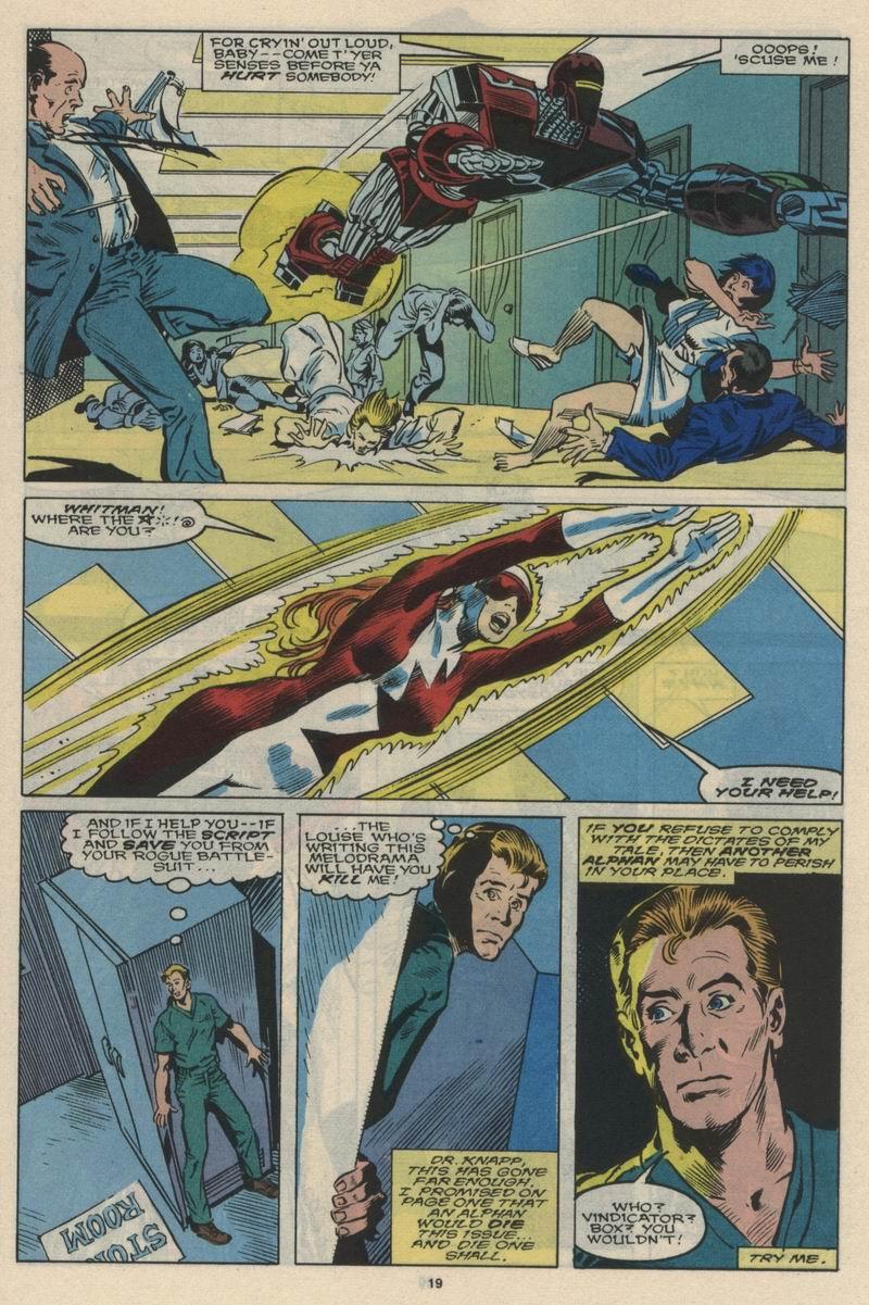Read online Alpha Flight (1983) comic -  Issue #66 - 20