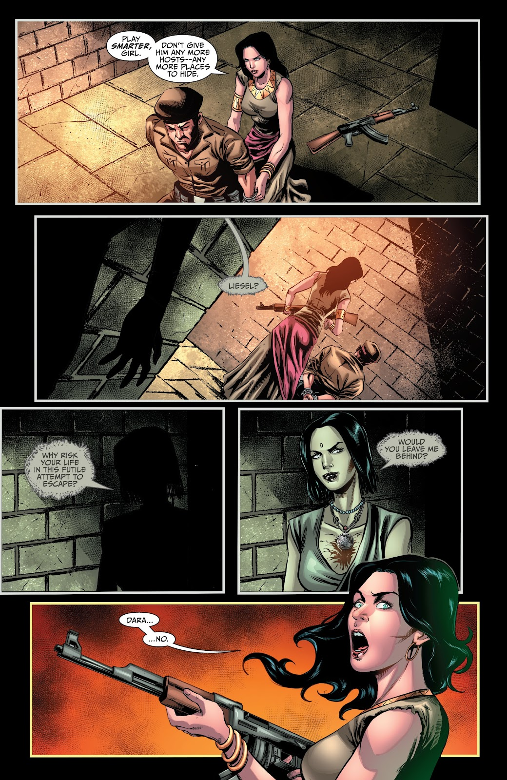 Read online Van Helsing: Sword of Heaven comic -  Issue #6 - 12
