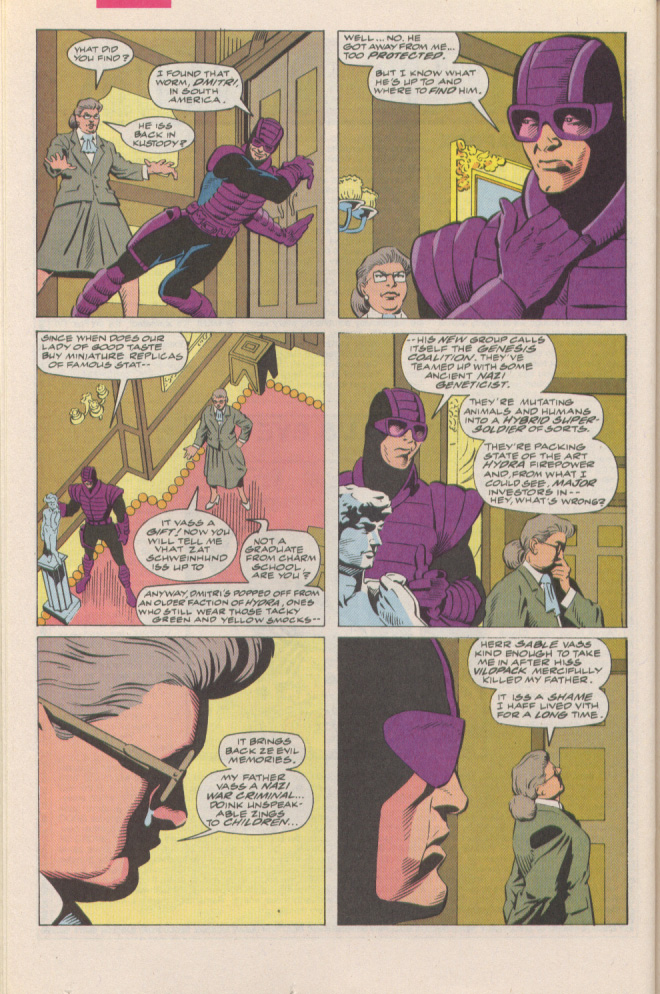 Read online Silver Sable and the Wild Pack comic -  Issue #6 - 16