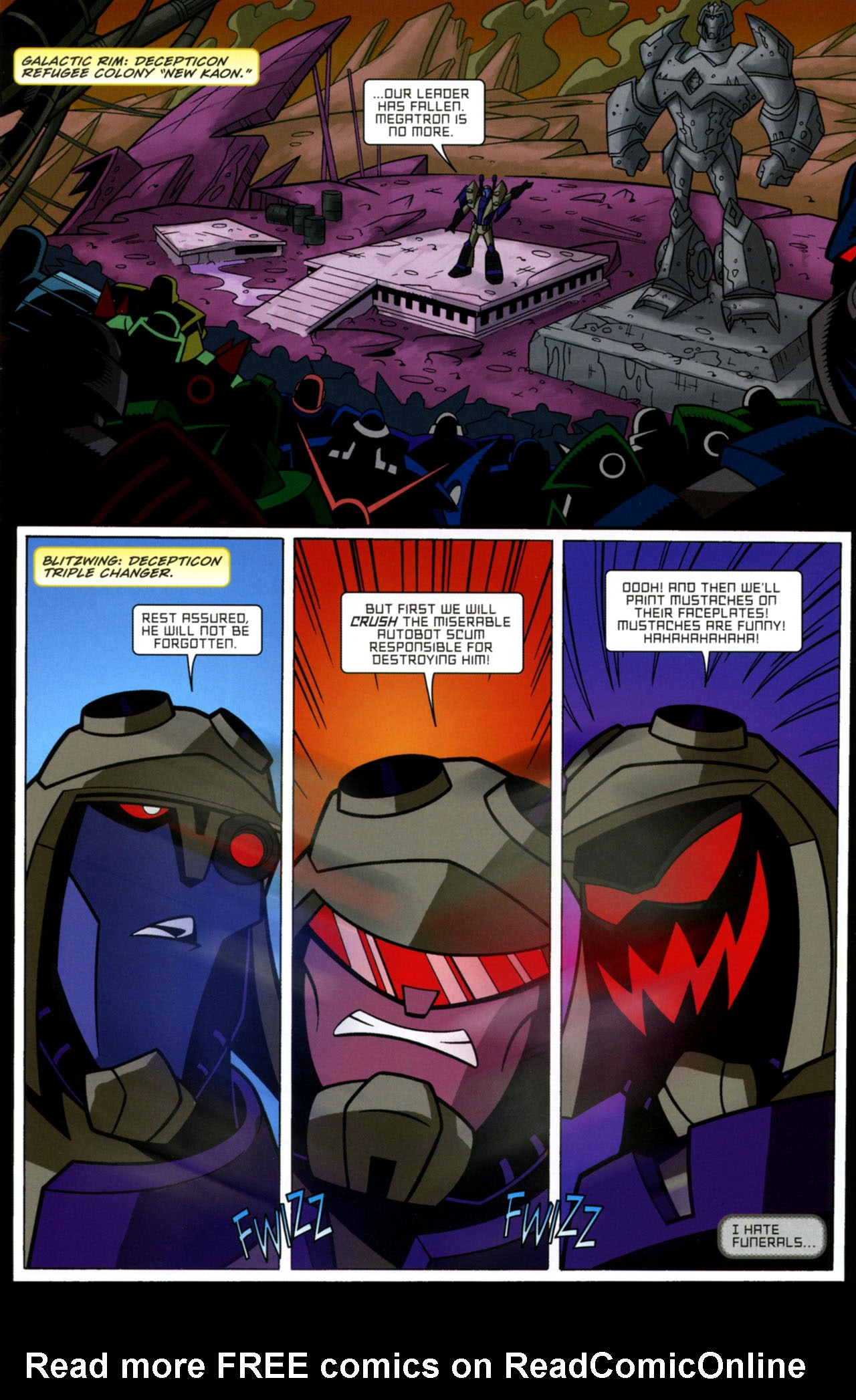 Read online Transformers Animated: The Arrival comic -  Issue #1 - 8