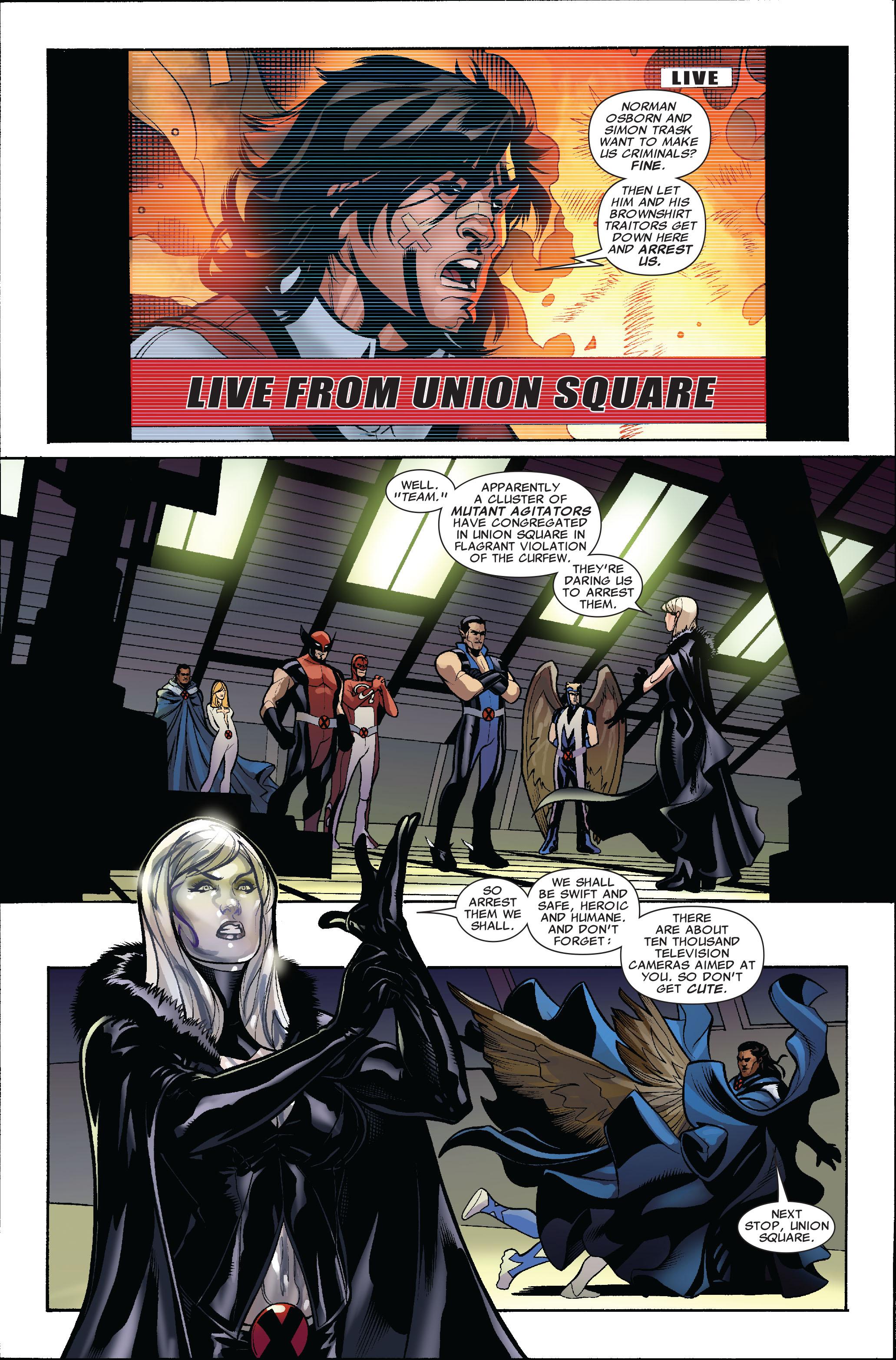 Read online Uncanny X-Men (1963) comic -  Issue #513 - 21