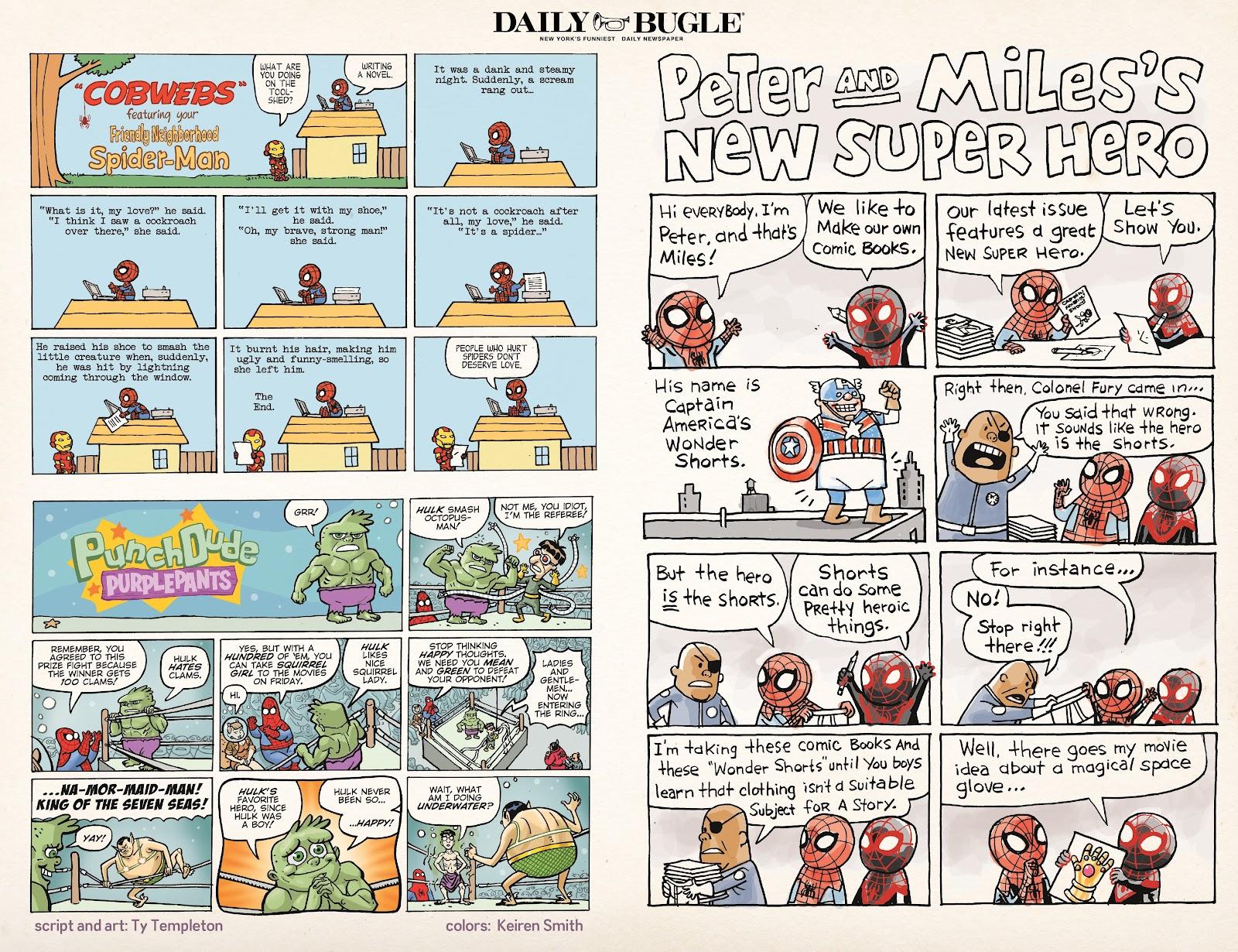 Read online Marvel Super Hero Adventures: Spider-Man – Web Designers comic -  Issue # Full - 12