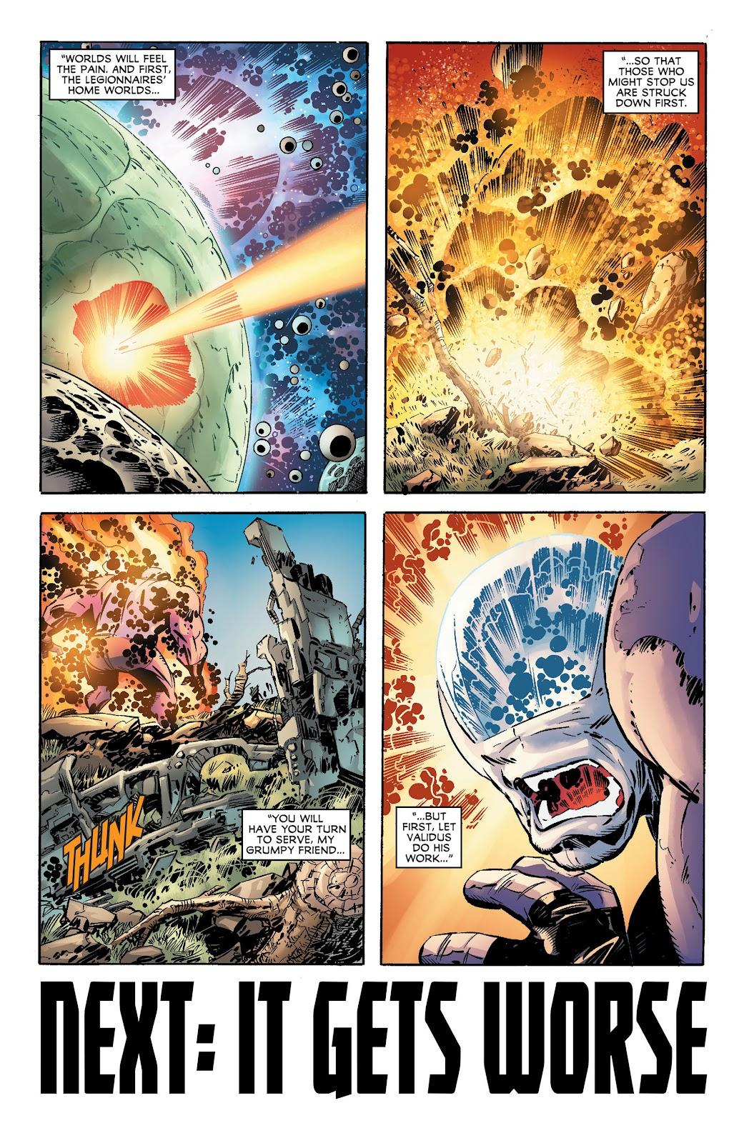 Legion of Super-Heroes (2011) Issue #17 #18 - English 20