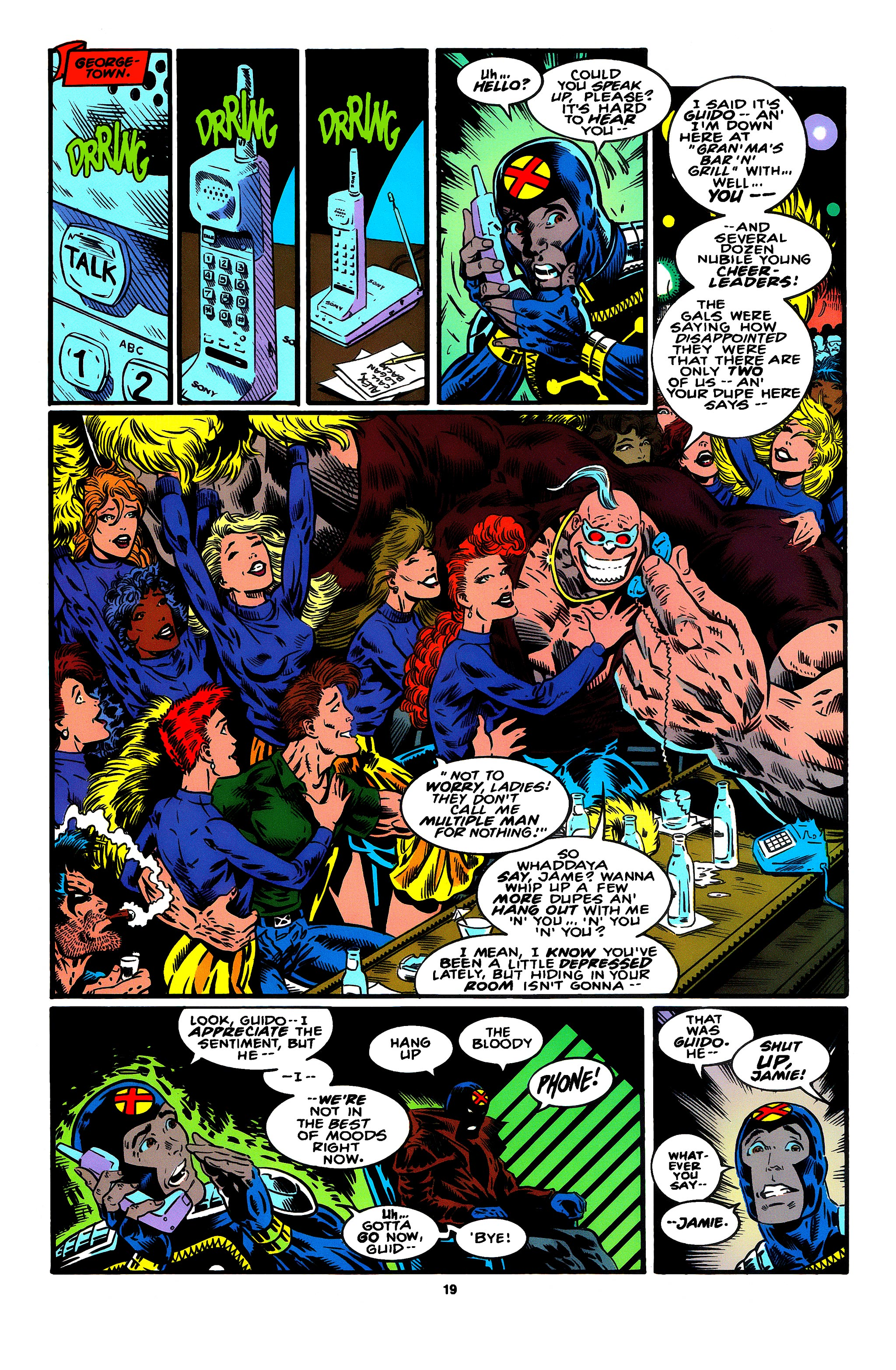 Read online X-Factor (1986) comic -  Issue #95 - 12