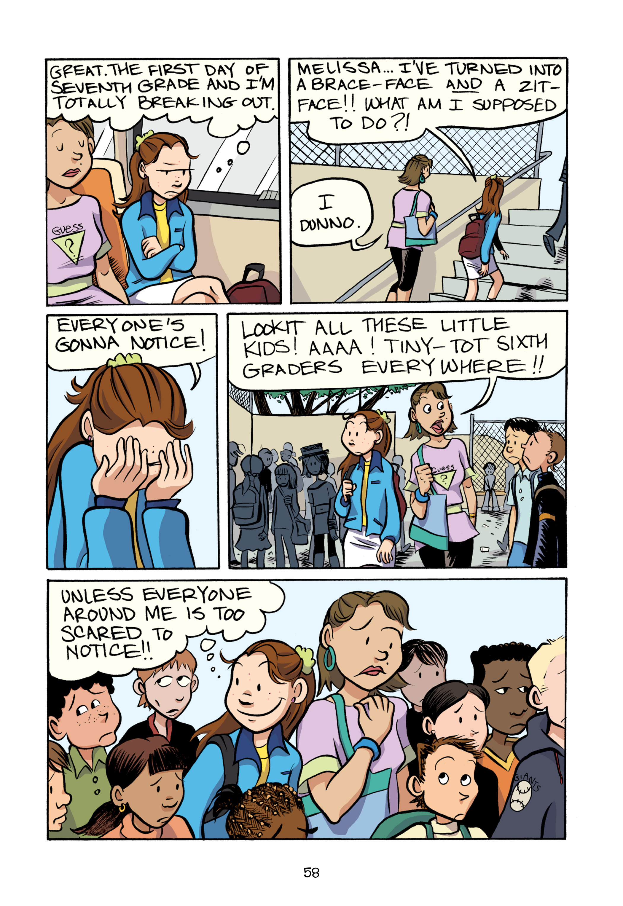 Read online Smile comic -  Issue # TPB - 64
