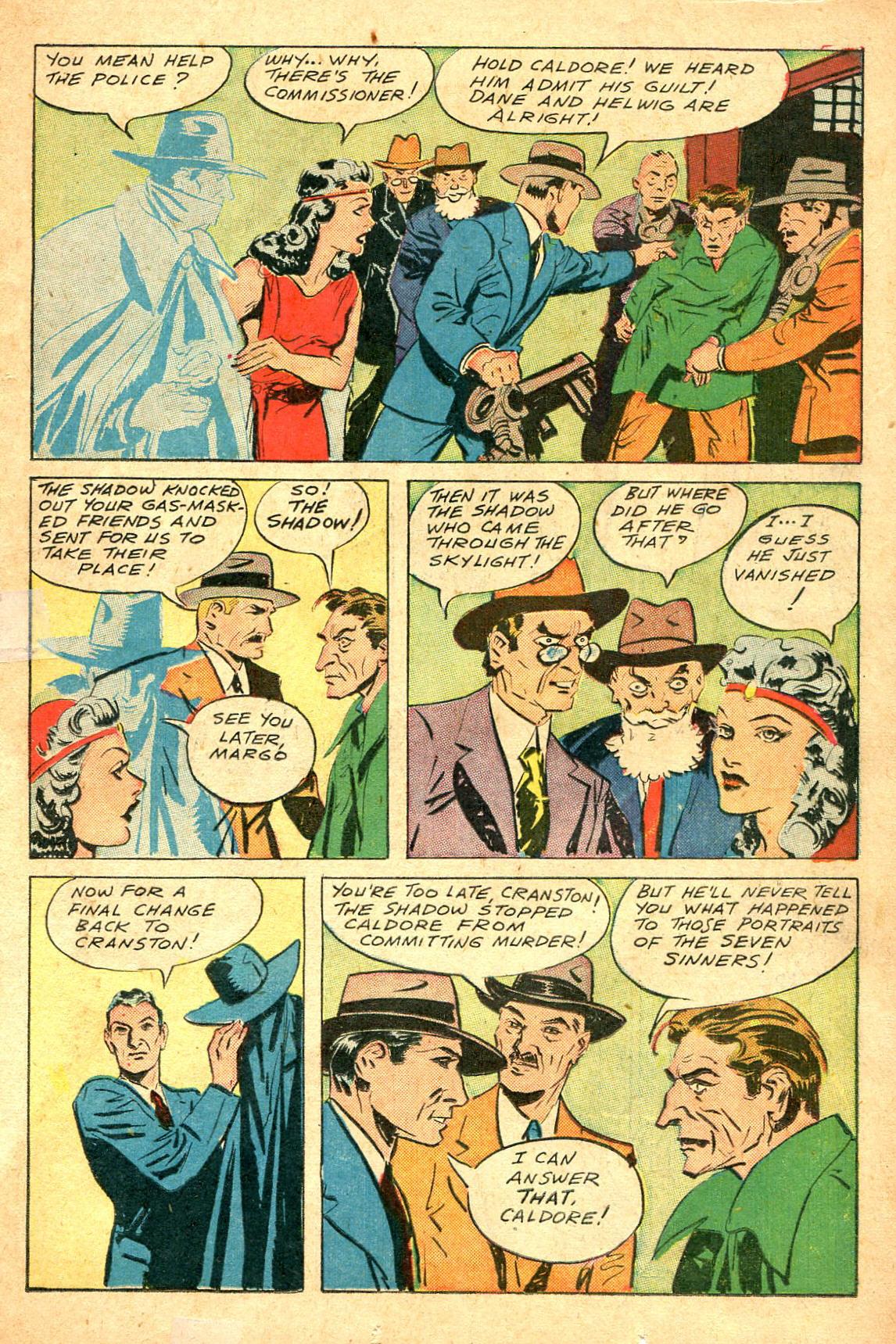 Read online Shadow Comics comic -  Issue #47 - 16