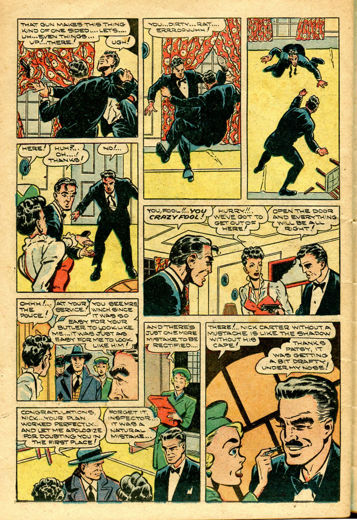 Read online Shadow Comics comic -  Issue #96 - 36