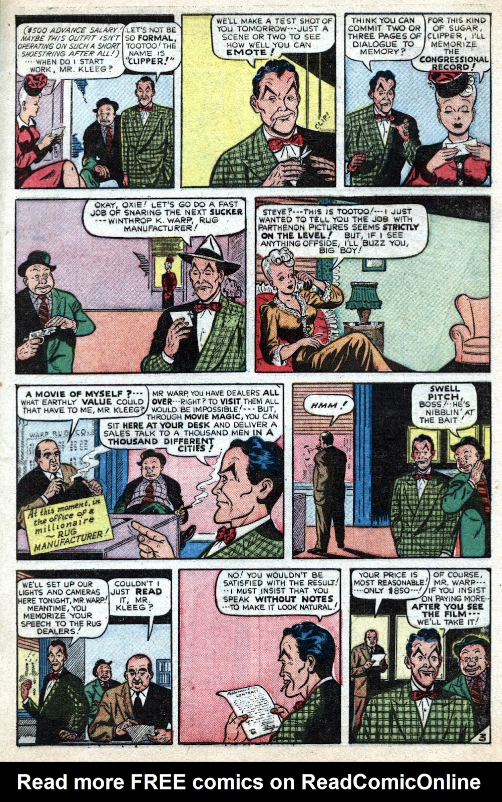 Read online Famous Funnies comic -  Issue #184 - 11