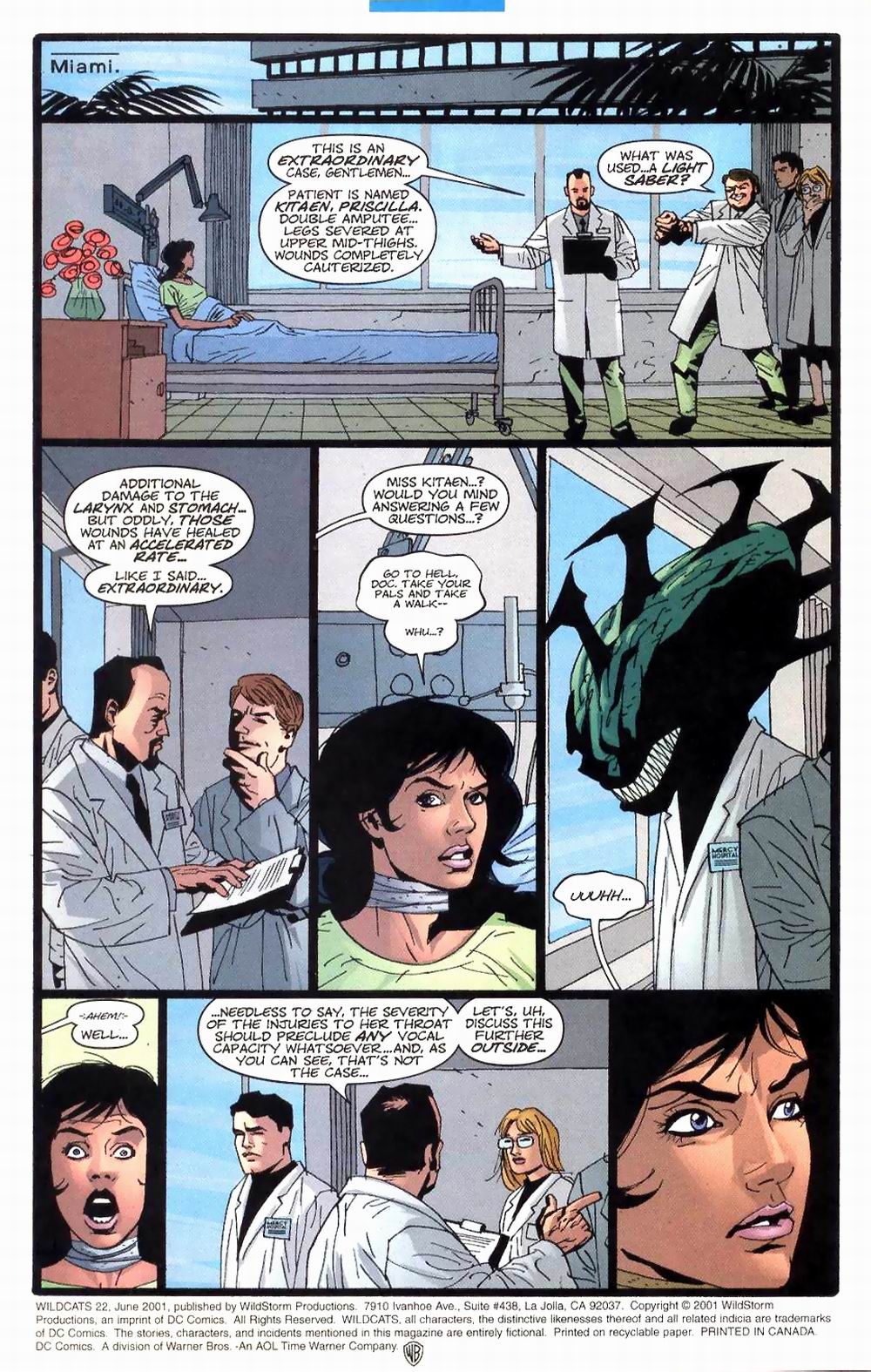 Wildcats (1999) Issue #22 #23 - English 6