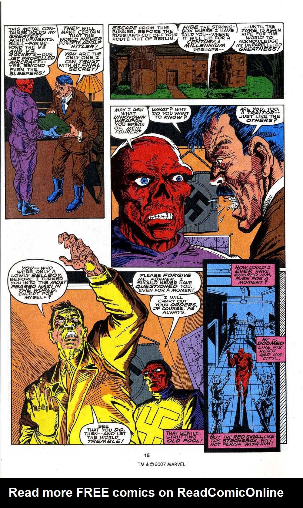 Read online Captain America (1968) comic -  Issue # _Annual 13 - 17