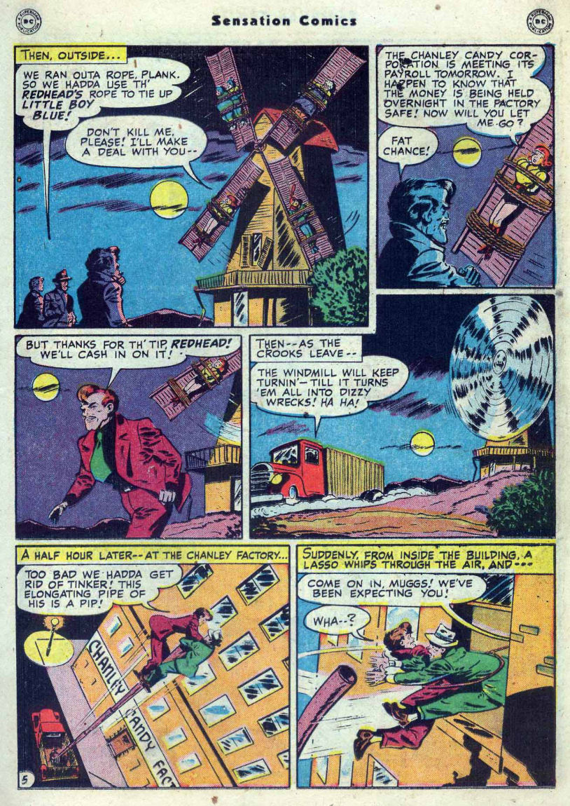 Read online Sensation (Mystery) Comics comic -  Issue #82 - 21