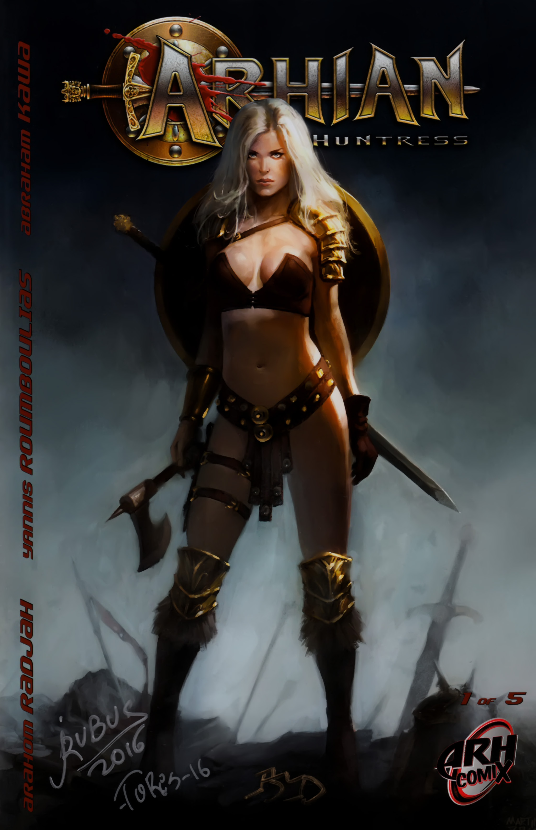 Read online Arhian: Head Huntress comic -  Issue #1 - 1