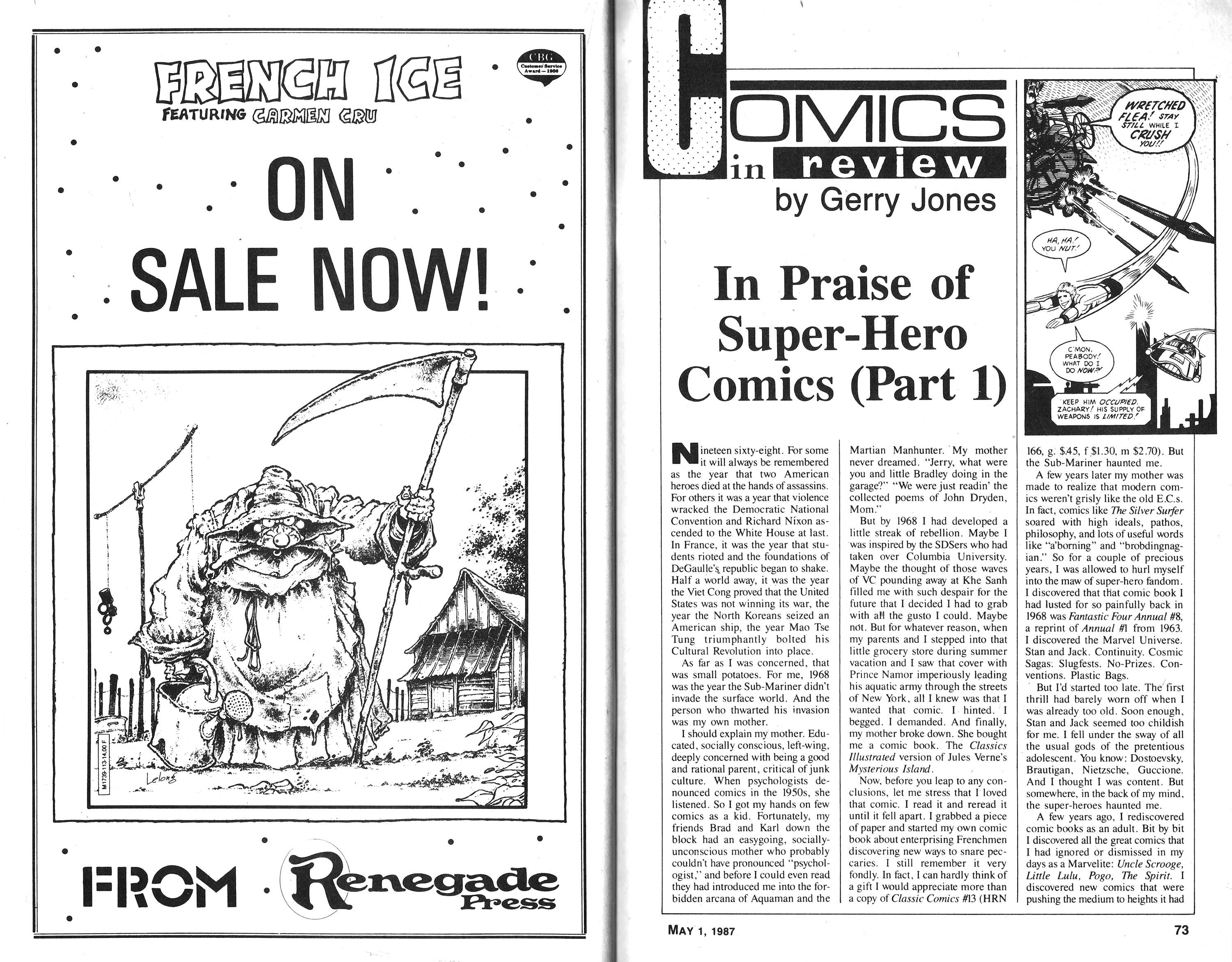Read online Amazing Heroes comic -  Issue #116 - 37