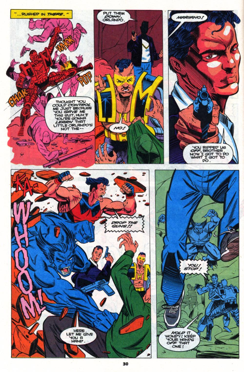 Read online Wonder Man (1991) comic -  Issue # _Annual 2 - 28