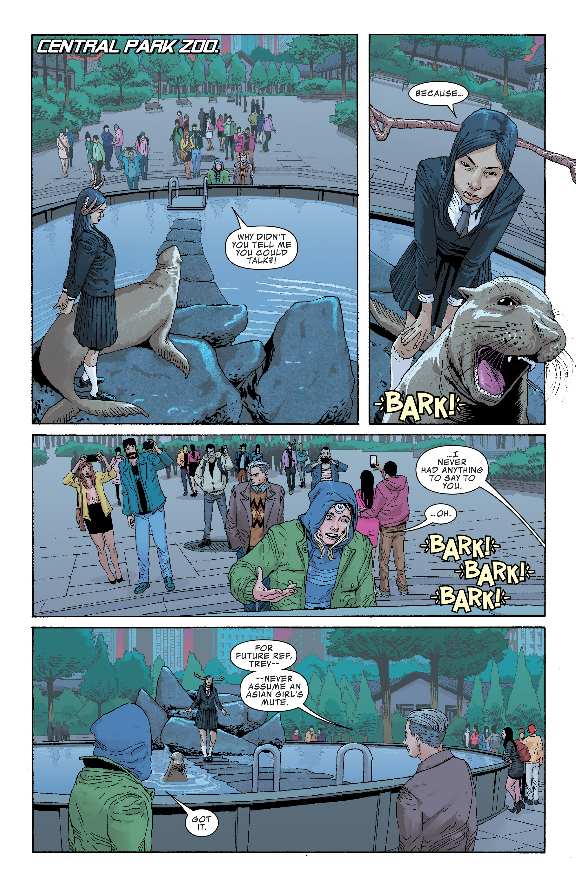 Read online Generation X (2017) comic -  Issue #3 - 4