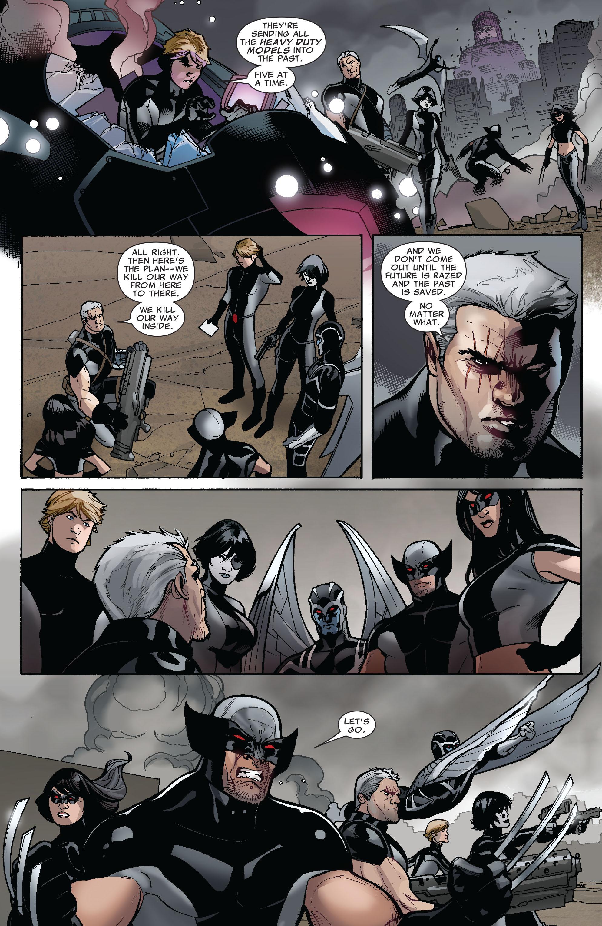 Read online Uncanny X-Men (1963) comic -  Issue #525 - 20