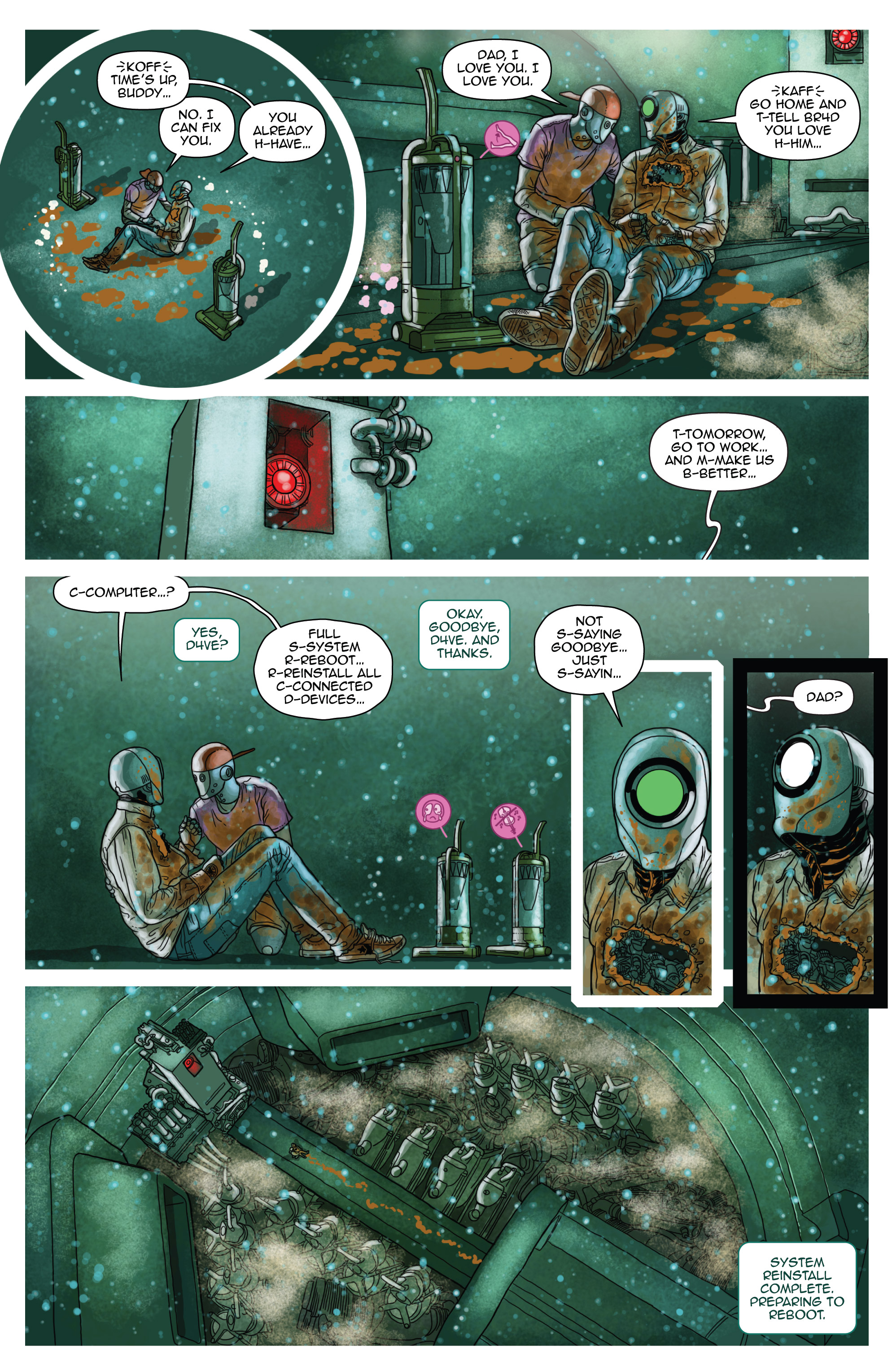 Read online D4VEocracy comic -  Issue #4 - 22