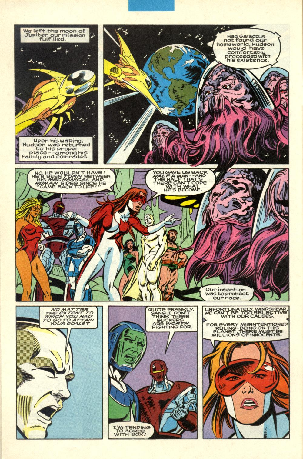 Read online Alpha Flight (1983) comic -  Issue #100 - 11