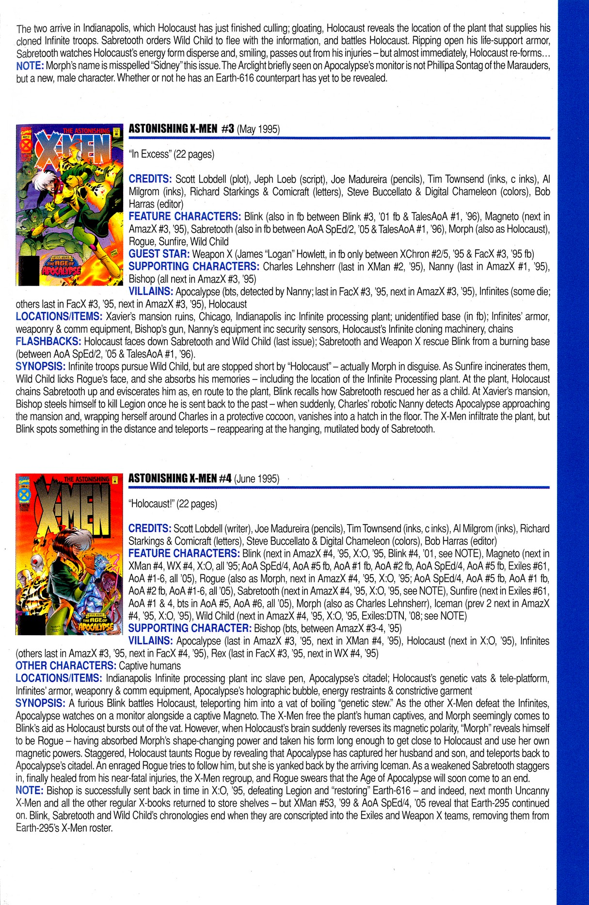 Read online Official Index to the Marvel Universe comic -  Issue #8 - 57