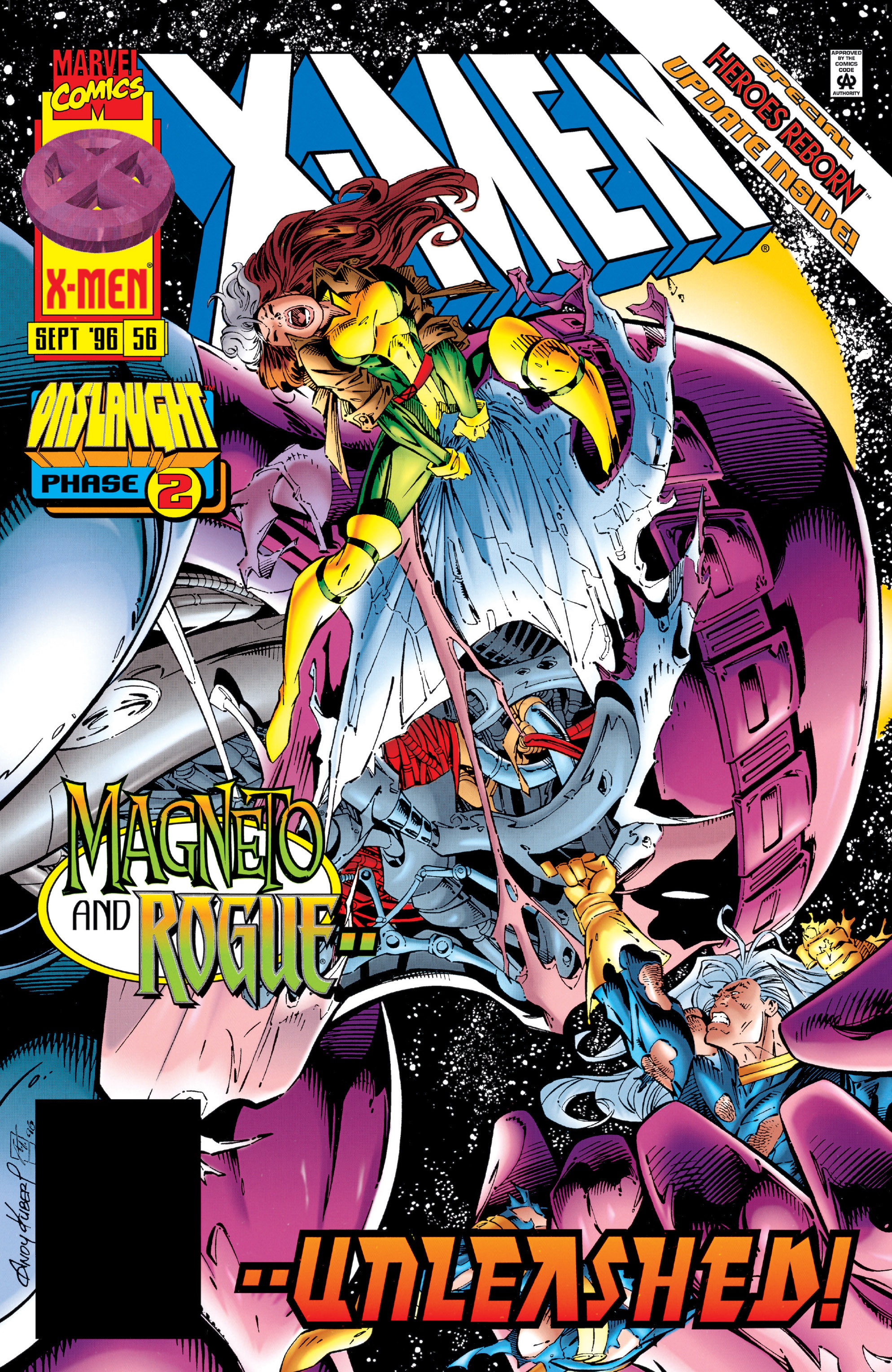 X-Men (1991) 56 Page 0