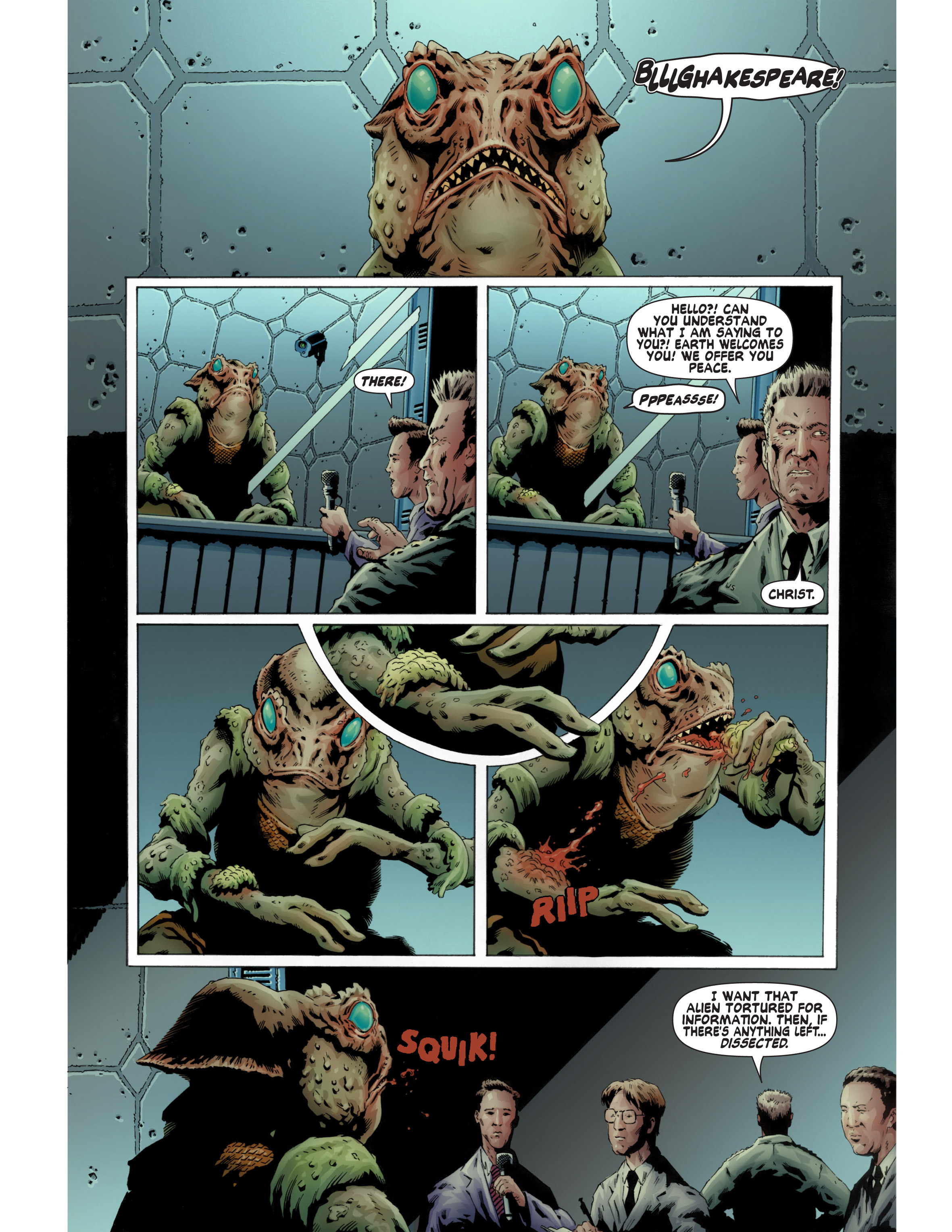 Read online Bad Planet comic -  Issue # TPB - 72