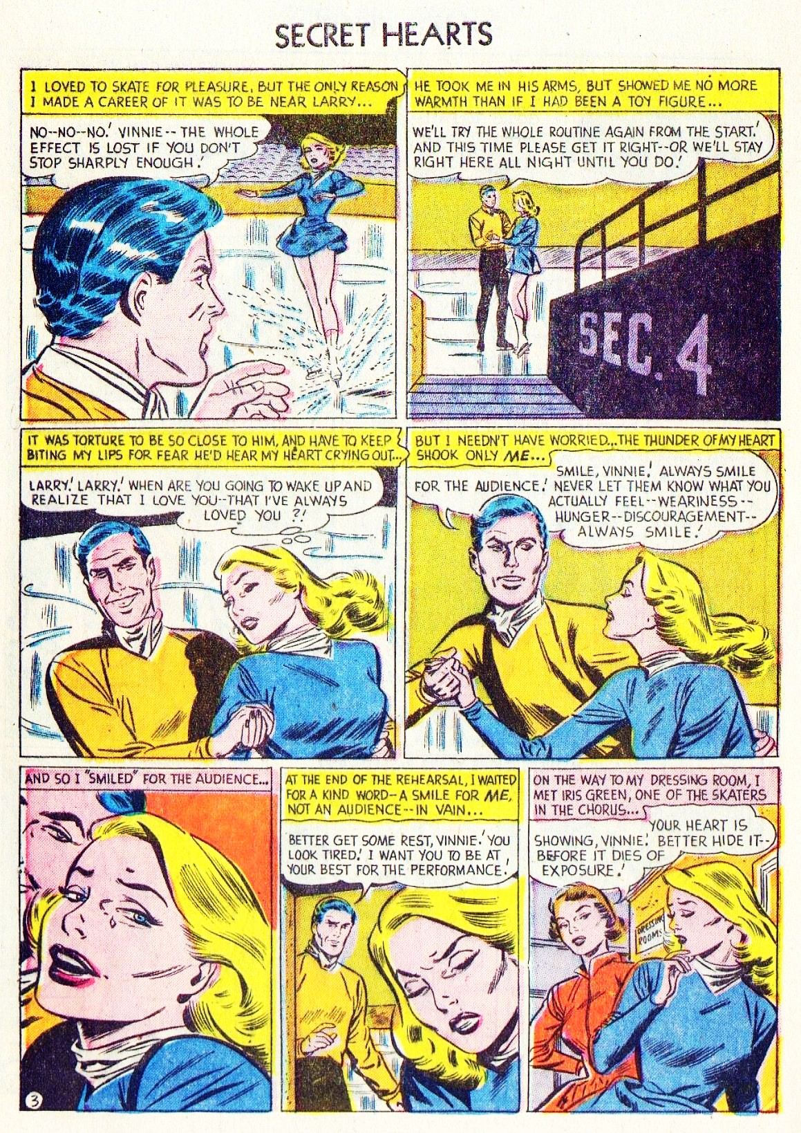 Read online Secret Hearts comic -  Issue #15 - 28