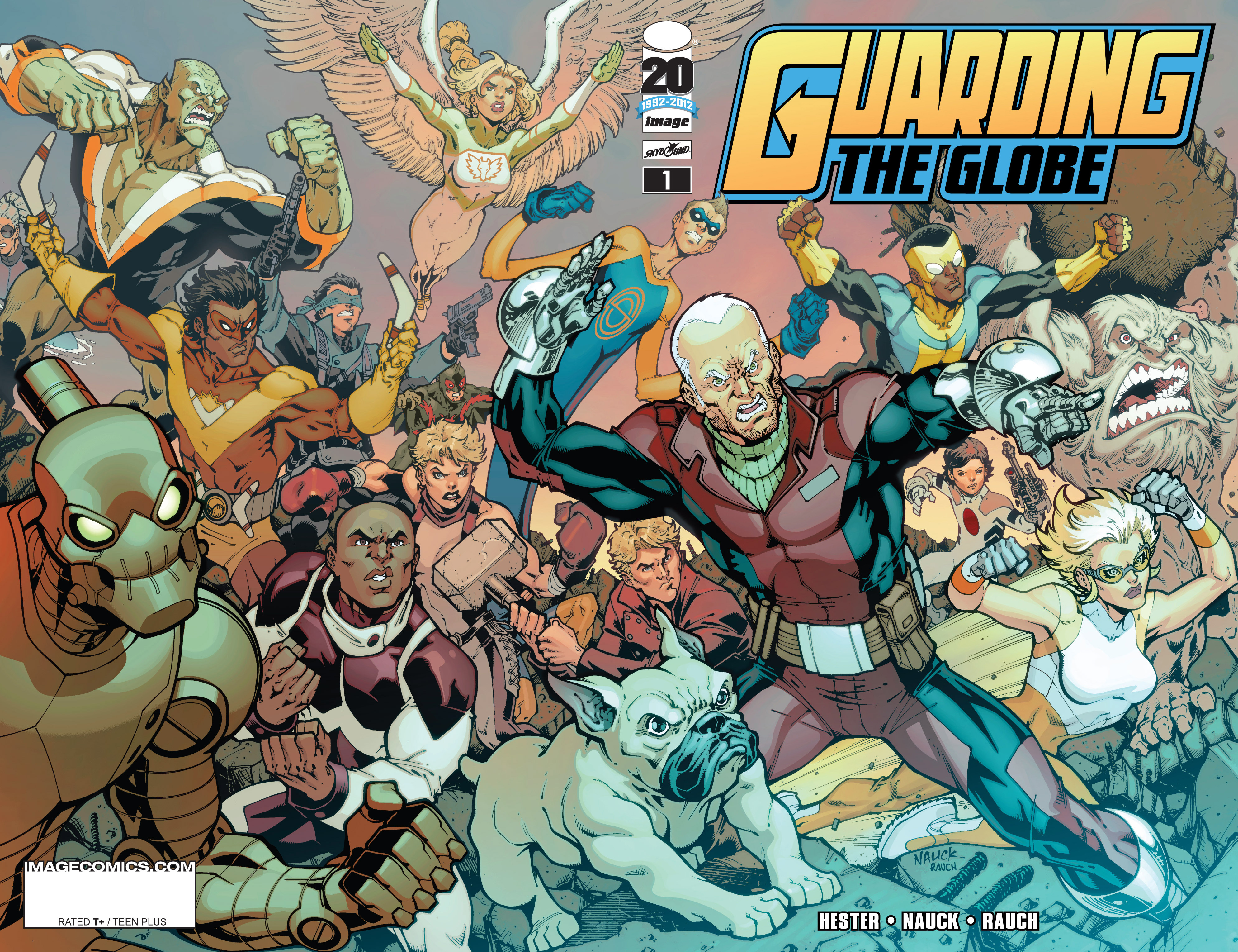 Read online Guarding the Globe (2012) comic -  Issue #1 - 2