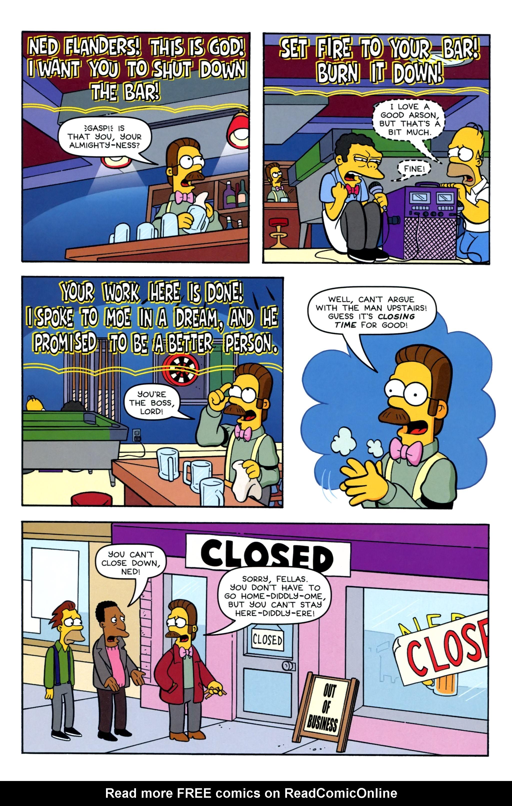 Read online Simpsons Comics comic -  Issue #220 - 24