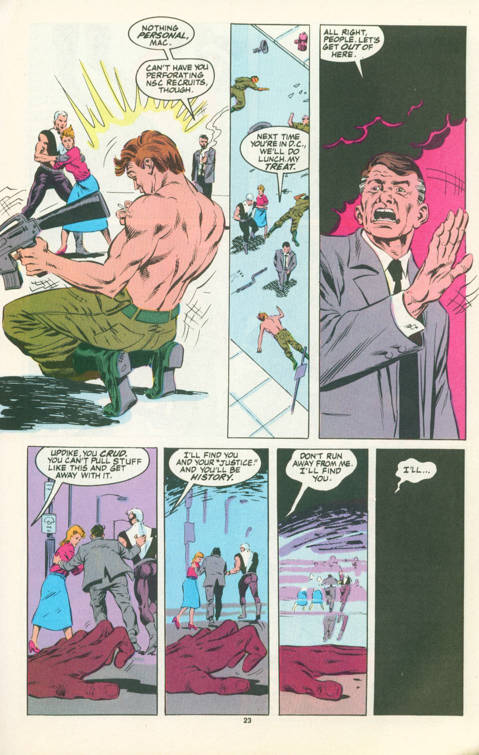 Read online Justice (1986) comic -  Issue #22 - 24