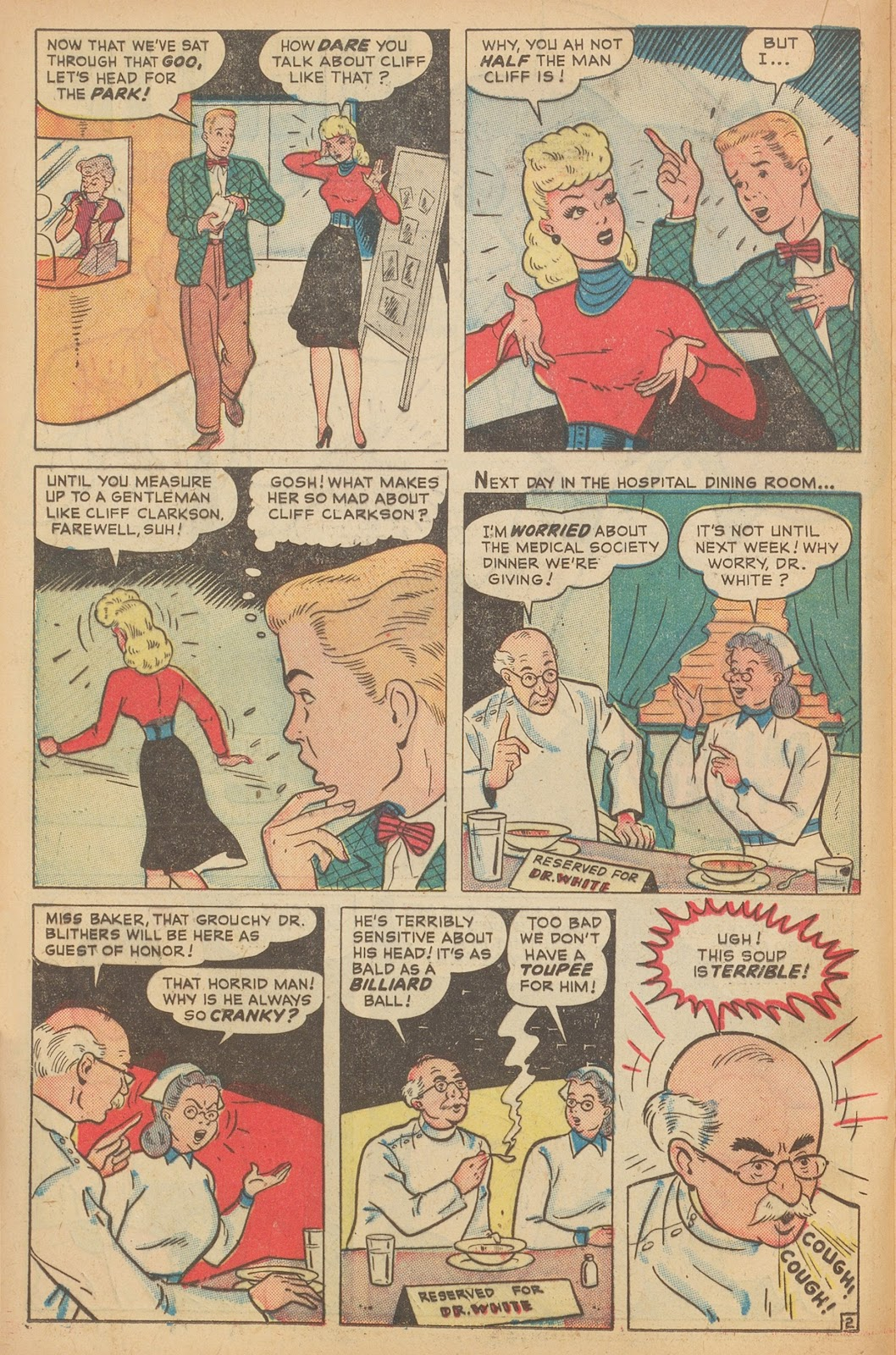Read online Nellie The Nurse (1945) comic -  Issue #15 - 28