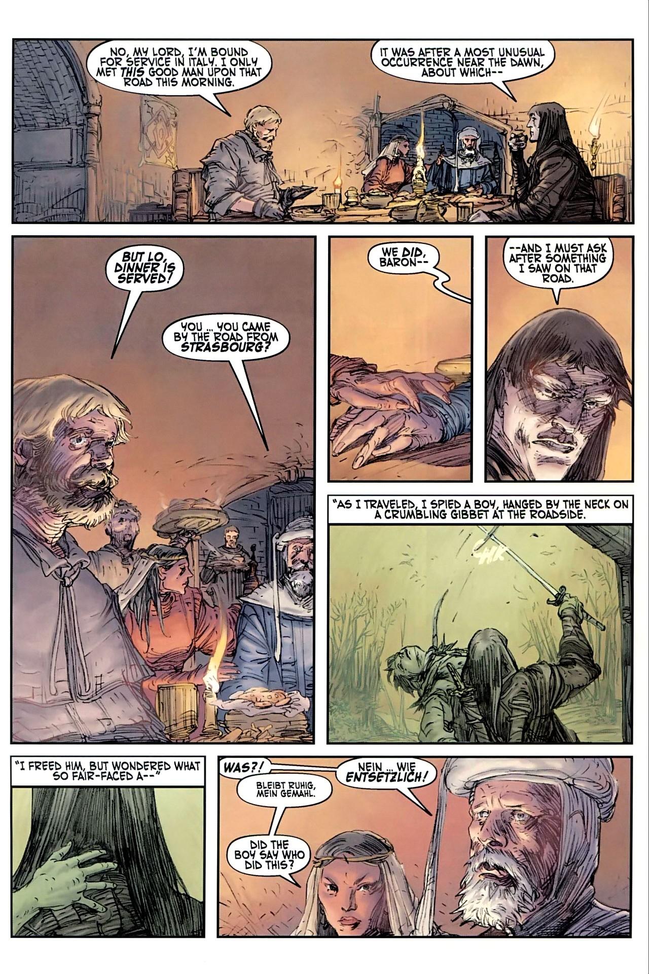 Read online Solomon Kane comic -  Issue #1 - 20