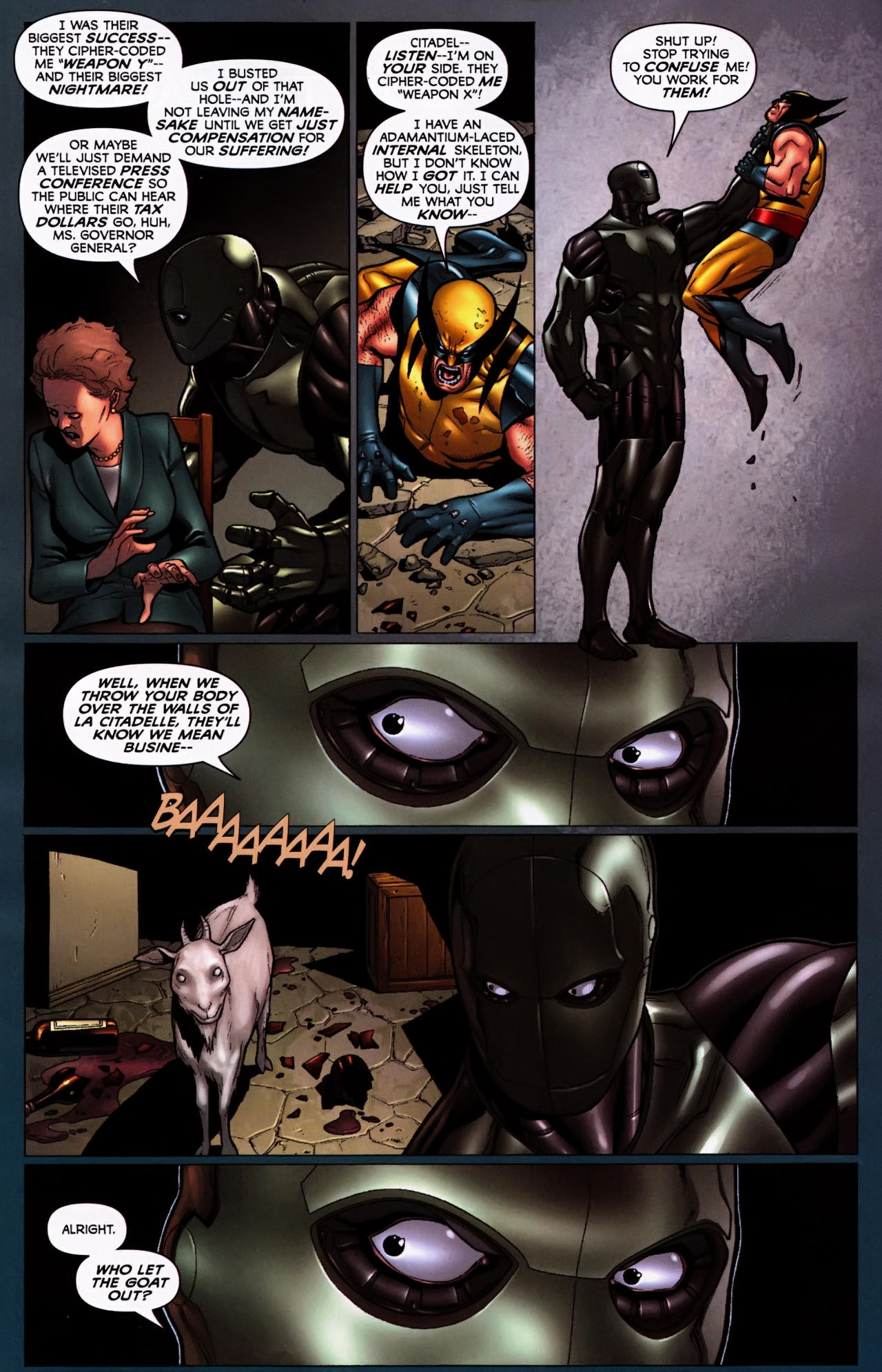 Read online Wolverine: First Class comic -  Issue #5 - 17