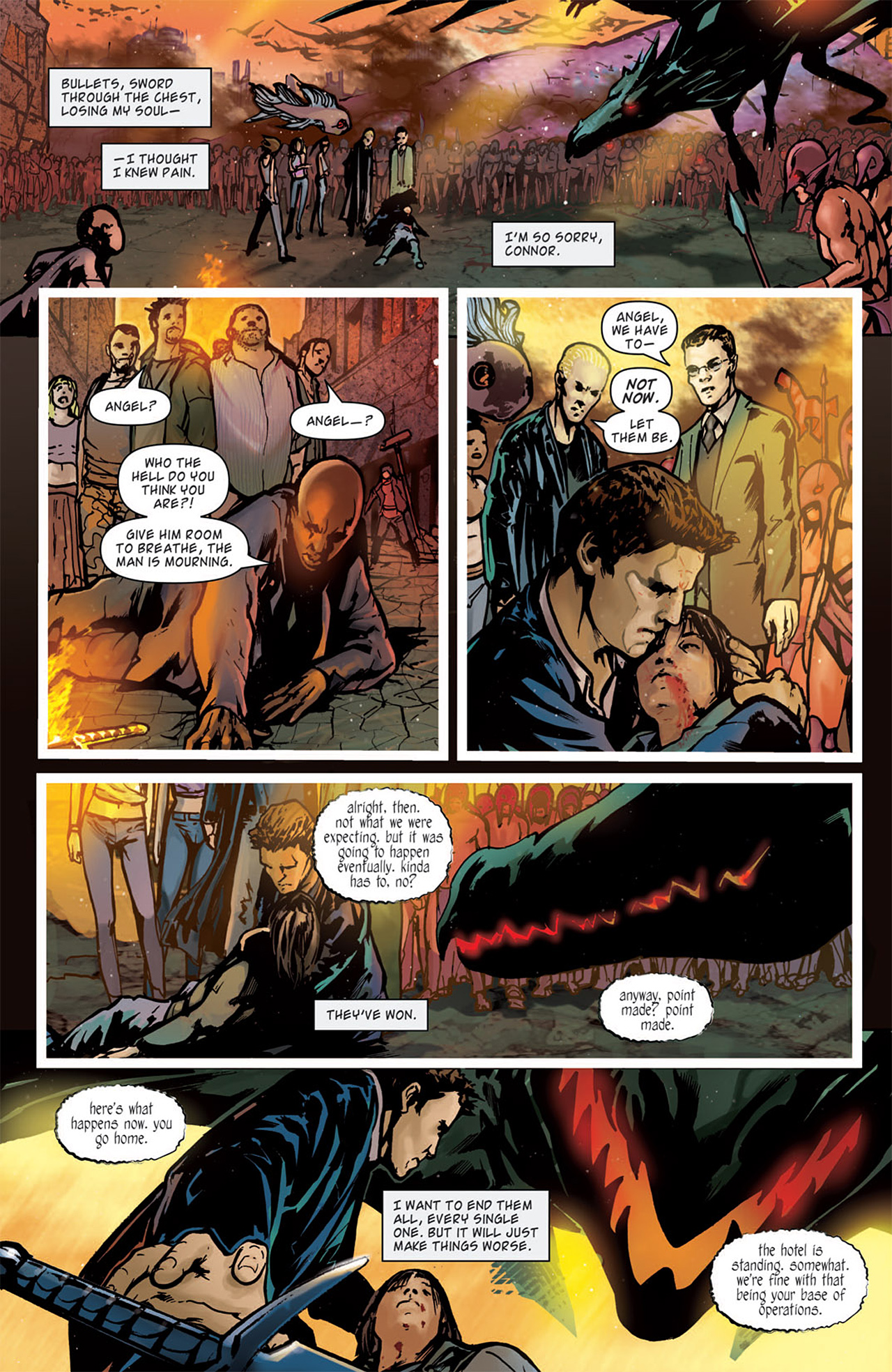 Read online Angel: After The Fall comic -  Issue #16 - 5