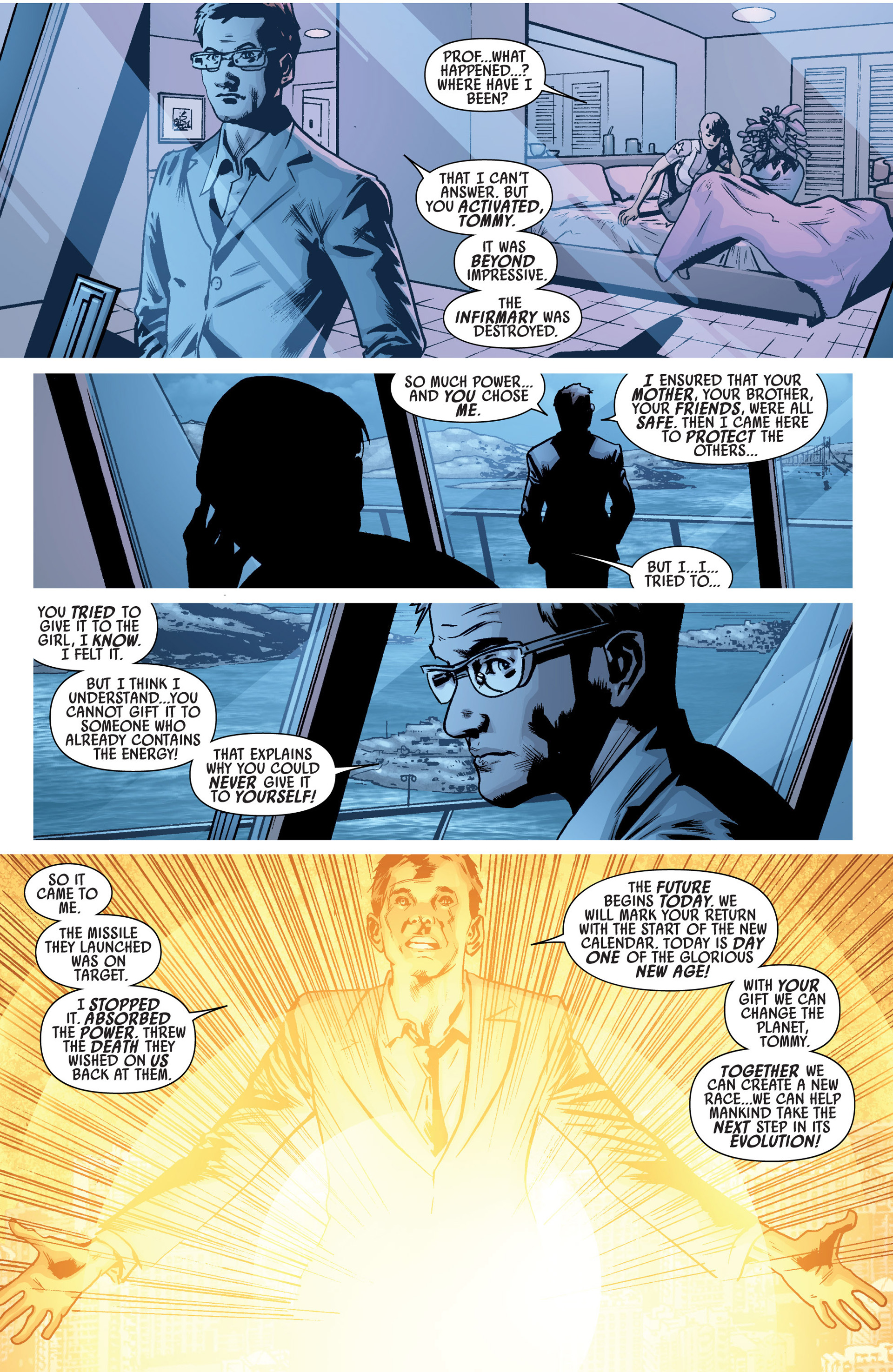 Read online America's Got Powers comic -  Issue #6 - 19