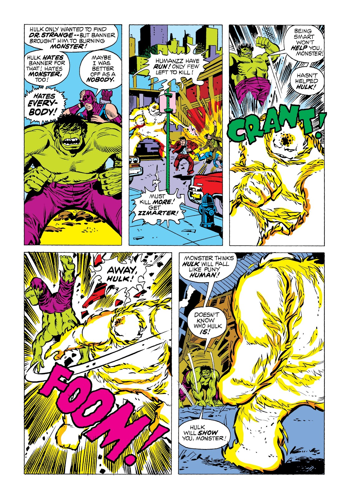 Read online Marvel Masterworks: The Incredible Hulk comic -  Issue # TPB 9 (Part 3) - 9