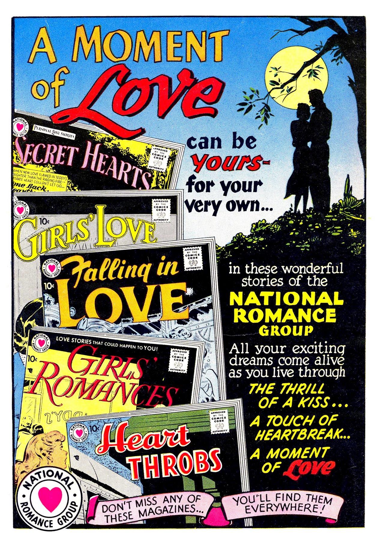 Read online Secret Hearts comic -  Issue #53 - 36