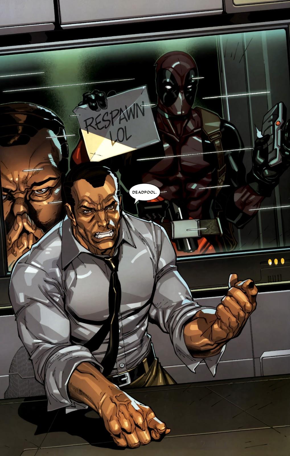 Read online Deadpool (2008) comic -  Issue #10 - 6