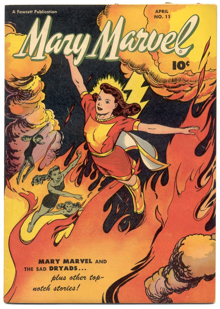 Mary Marvel 11 Page 1