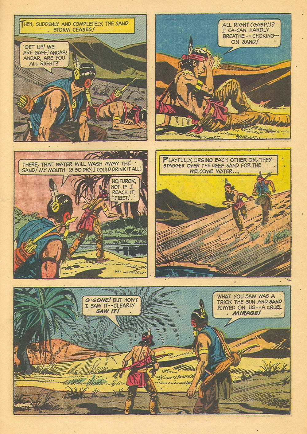 Read online Turok, Son of Stone comic -  Issue #42 - 27