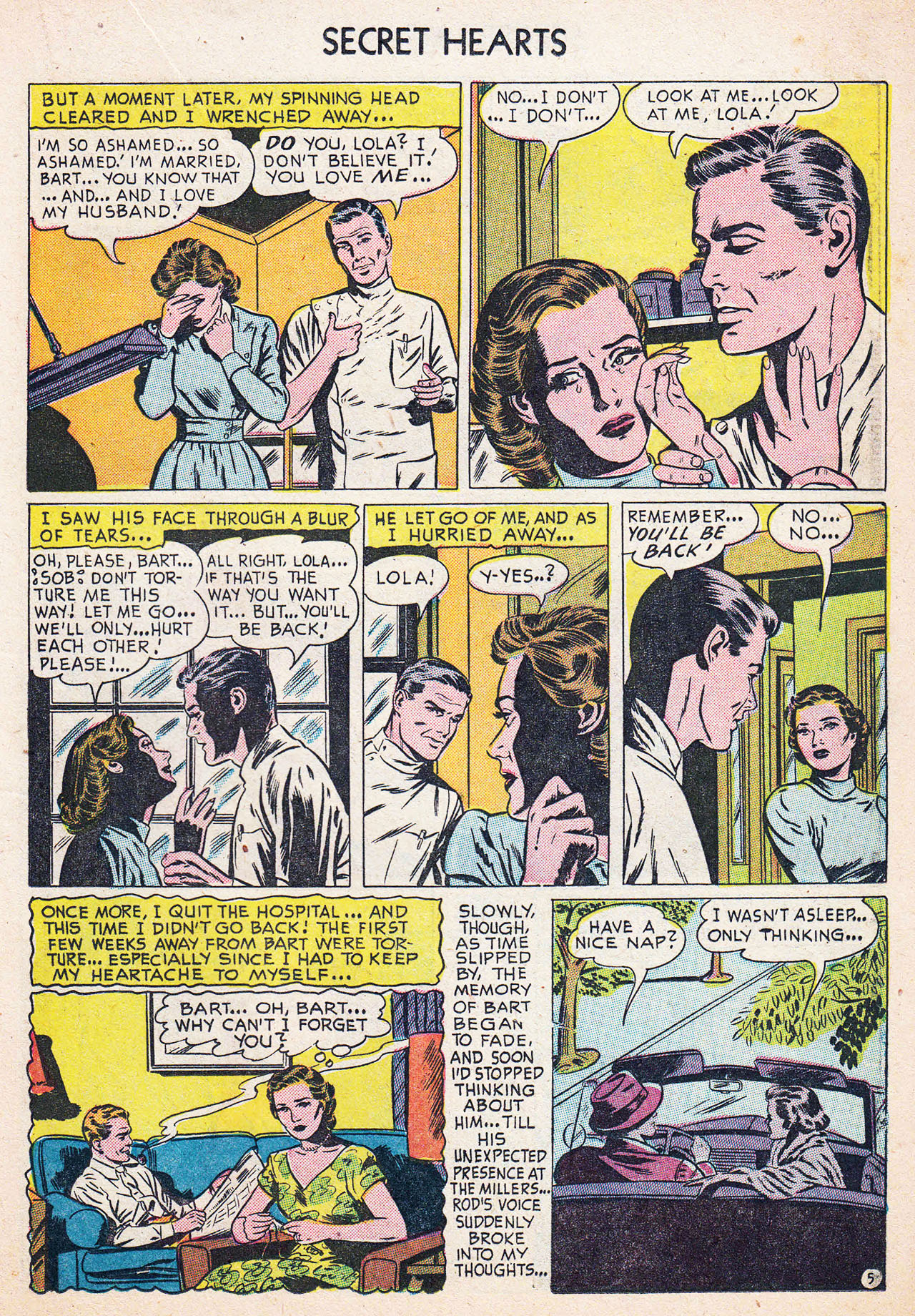 Read online Secret Hearts comic -  Issue #13 - 15