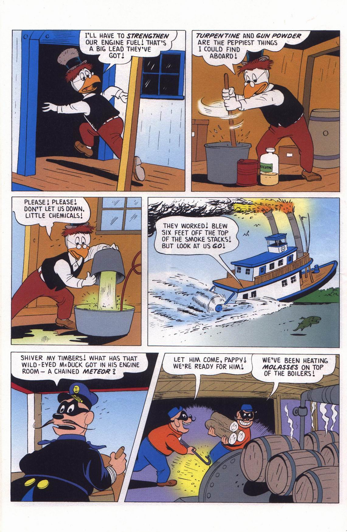 Read online Uncle Scrooge (1953) comic -  Issue #313 - 56