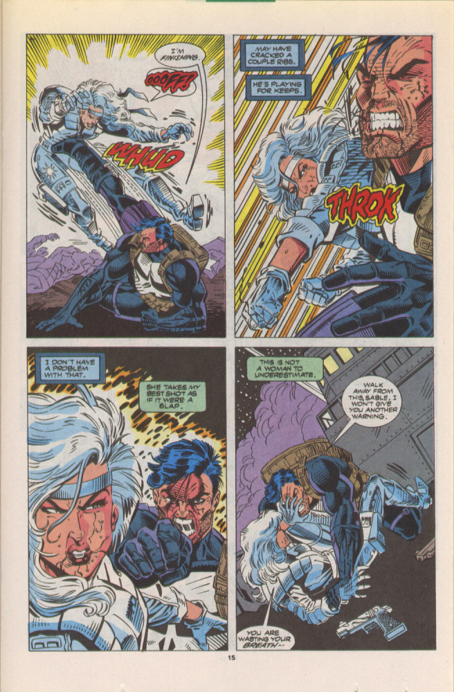 Read online Silver Sable and the Wild Pack comic -  Issue #10 - 12