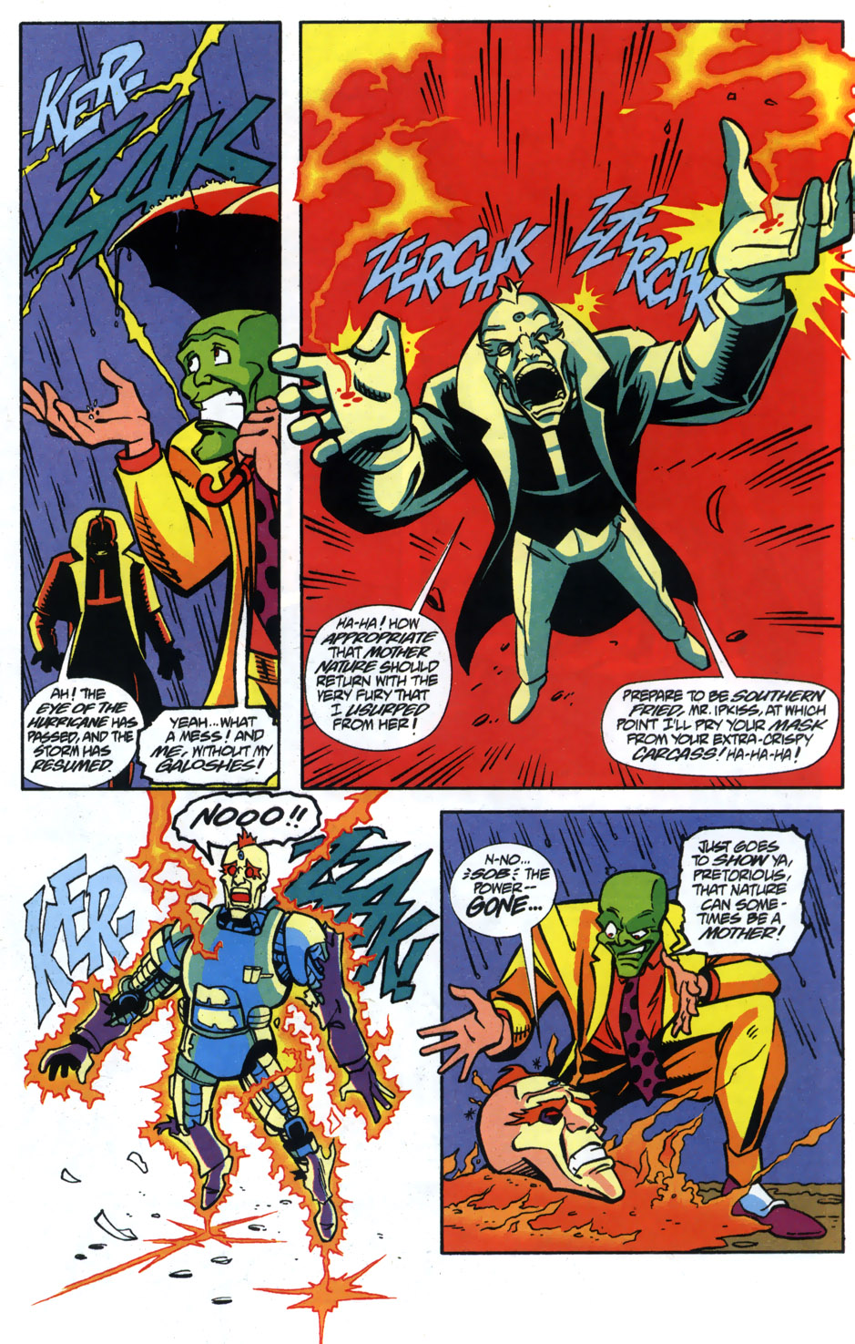 Read online Adventures Of The Mask comic -  Issue #5 - 22