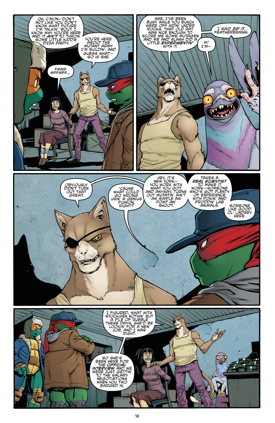 Read online Teenage Mutant Ninja Turtles: The IDW Collection comic -  Issue # TPB 4 (Part 3) - 65