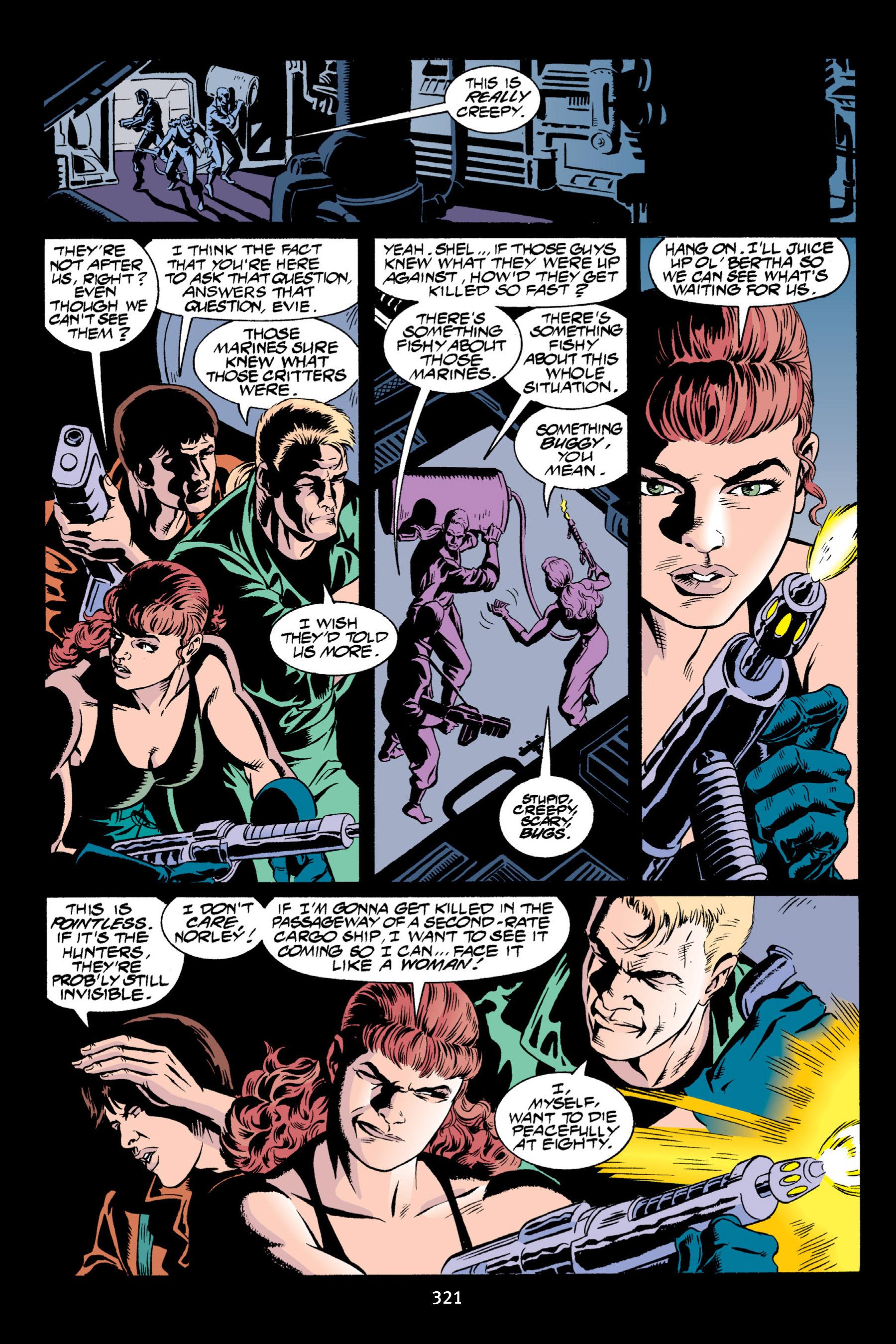 Read online Aliens vs. Predator Omnibus comic -  Issue # _TPB 2 Part 3 - 96
