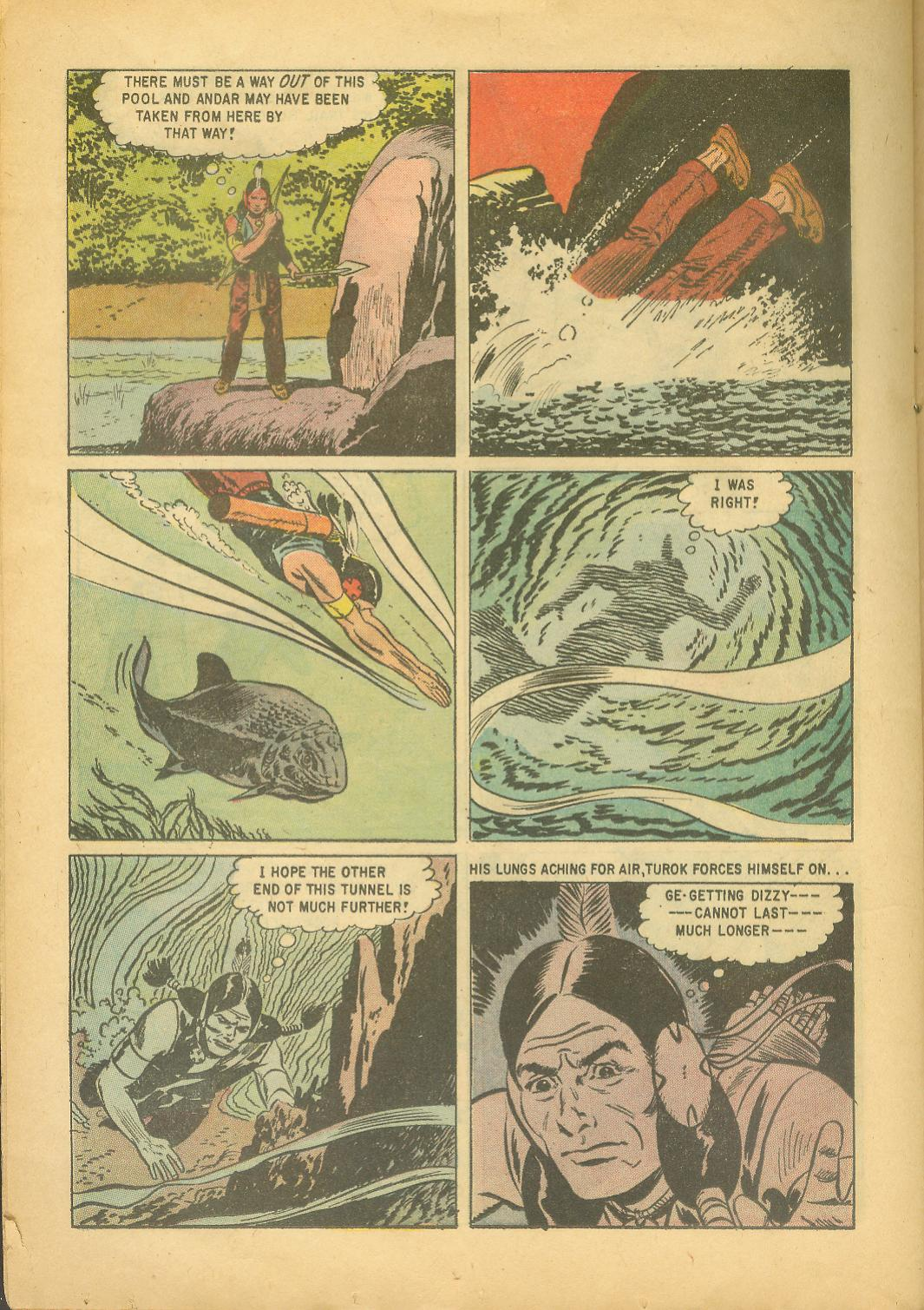 Read online Turok, Son of Stone comic -  Issue #18 - 24