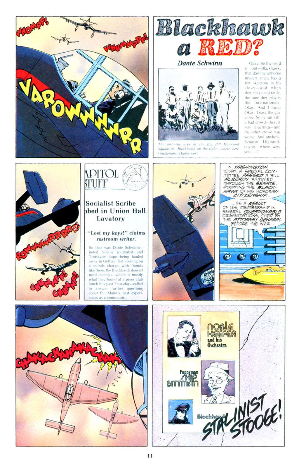 Blackhawk (1988) issue 1 - Page 13